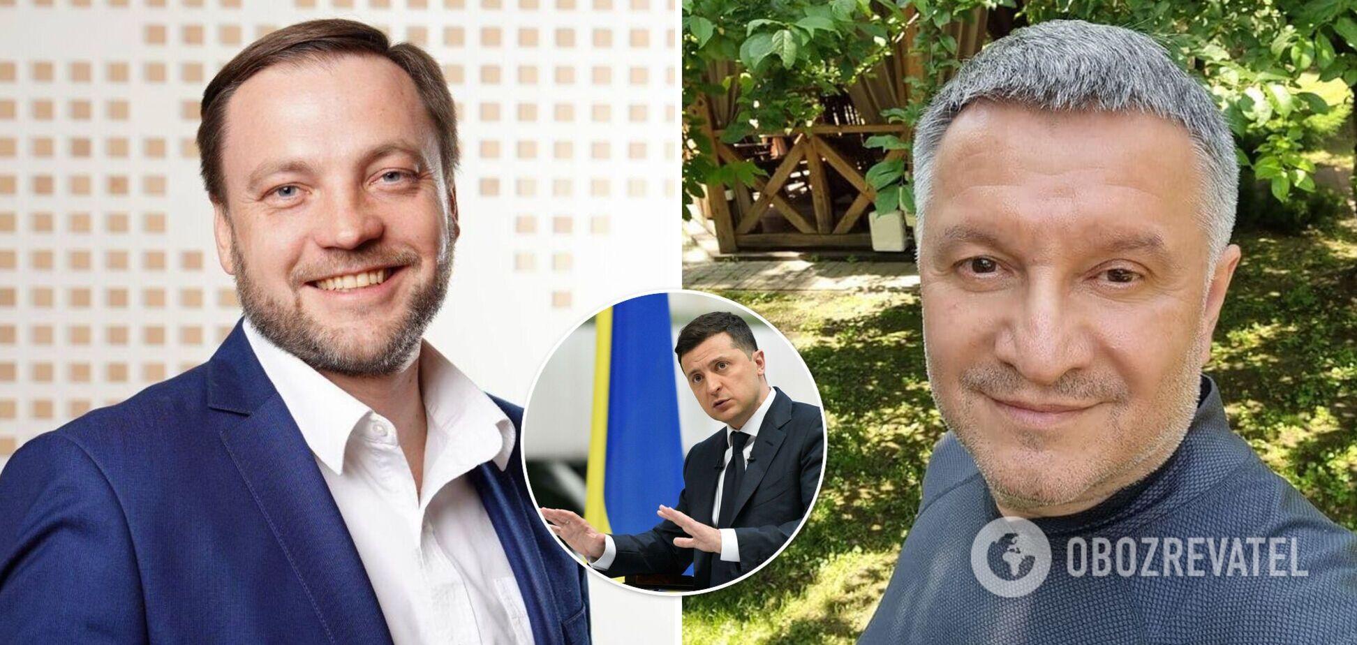 Денис Монастырский может сменить Арсена Авакова на посту главы МВД