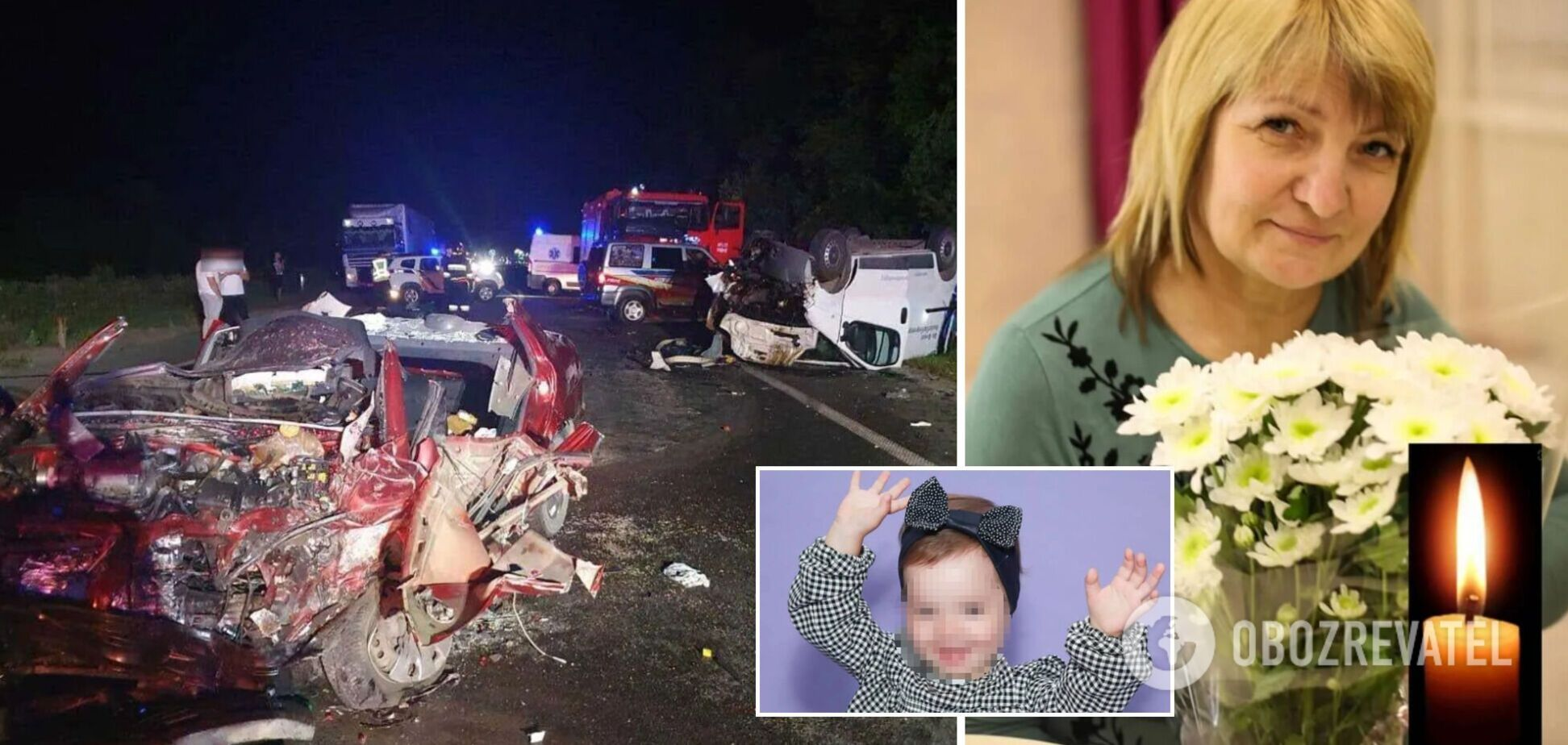 В ДТП на Ривненщине погибли супруги, за их 2-летнюю внучку борются врачи: подробности трагедии