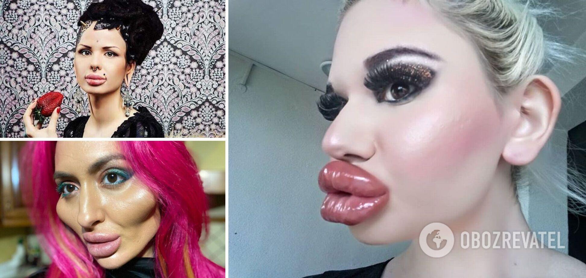 Девушки перекроили свою натуральную внешность