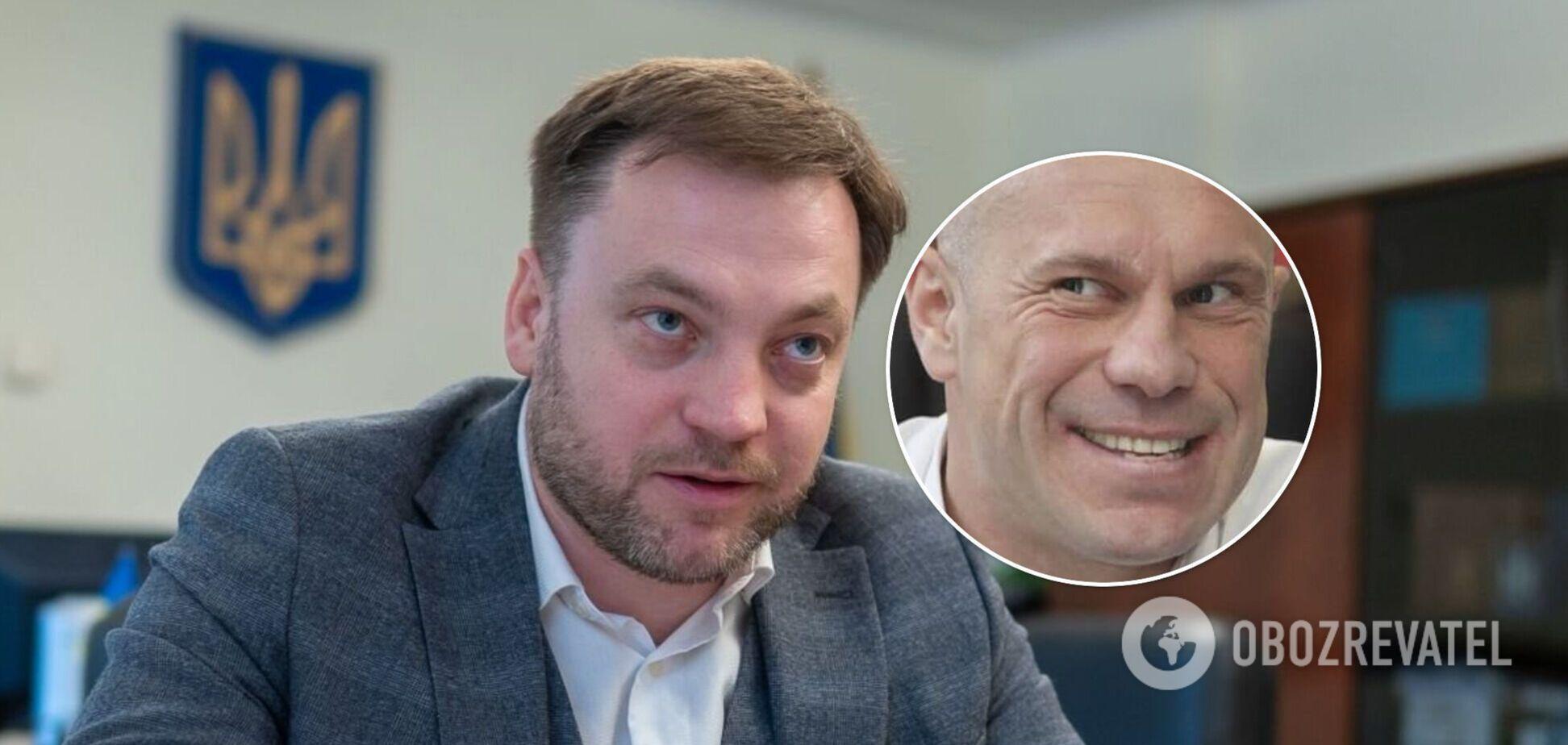 Возможный преемник Авакова Монастырский ранее выдал Киве справку о важности его диссертации