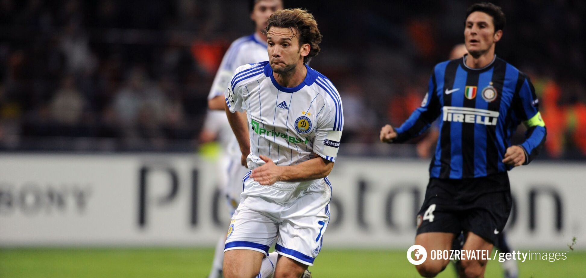 Андрей Шевченко в матче против 'Интера' в 2009 году