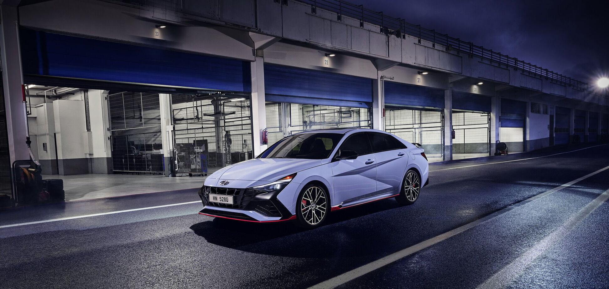 Hyundai презентував 'гарячий' седан Elantra N