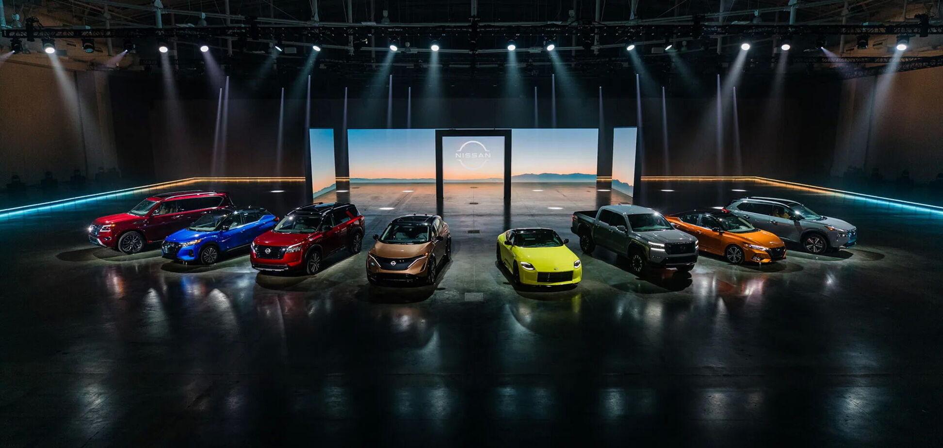 Nissan представить на автошоу в Чикаго широку гаму новинок
