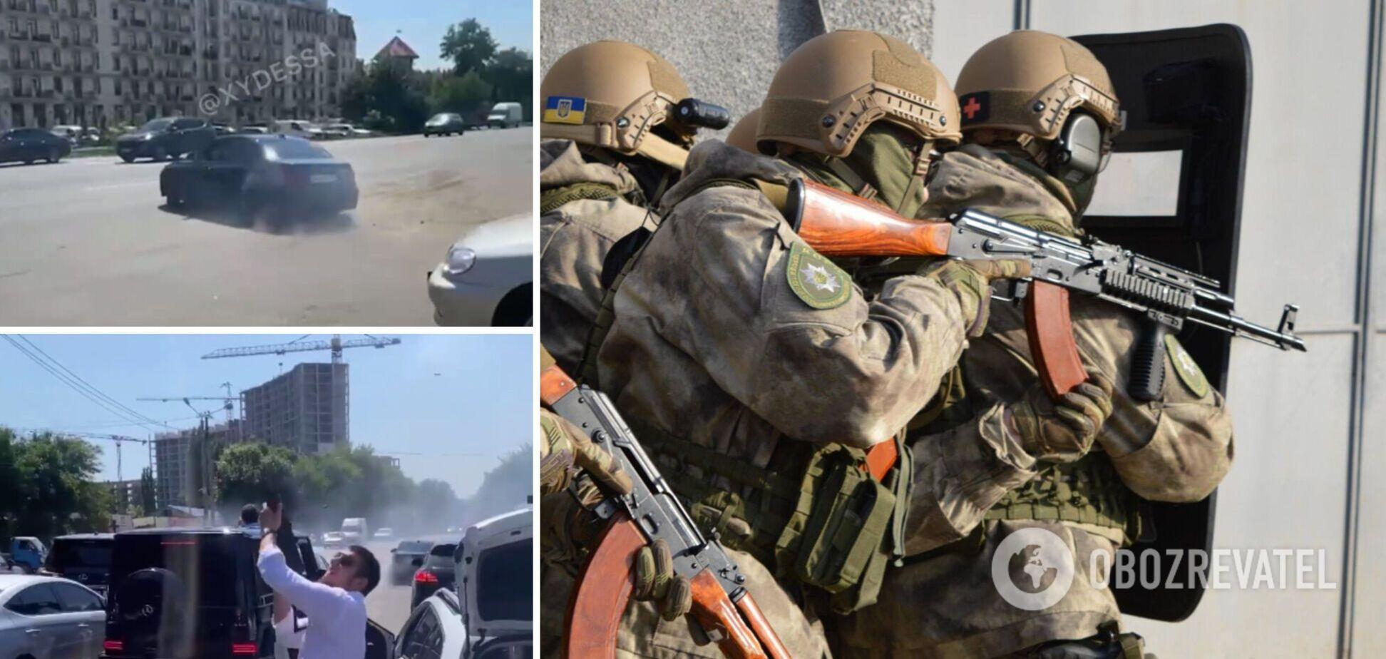 Під Одесою влаштували стрілянину з автомата в дусі кавказького весілля: поліція провела спецоперацію. Фото та відео
