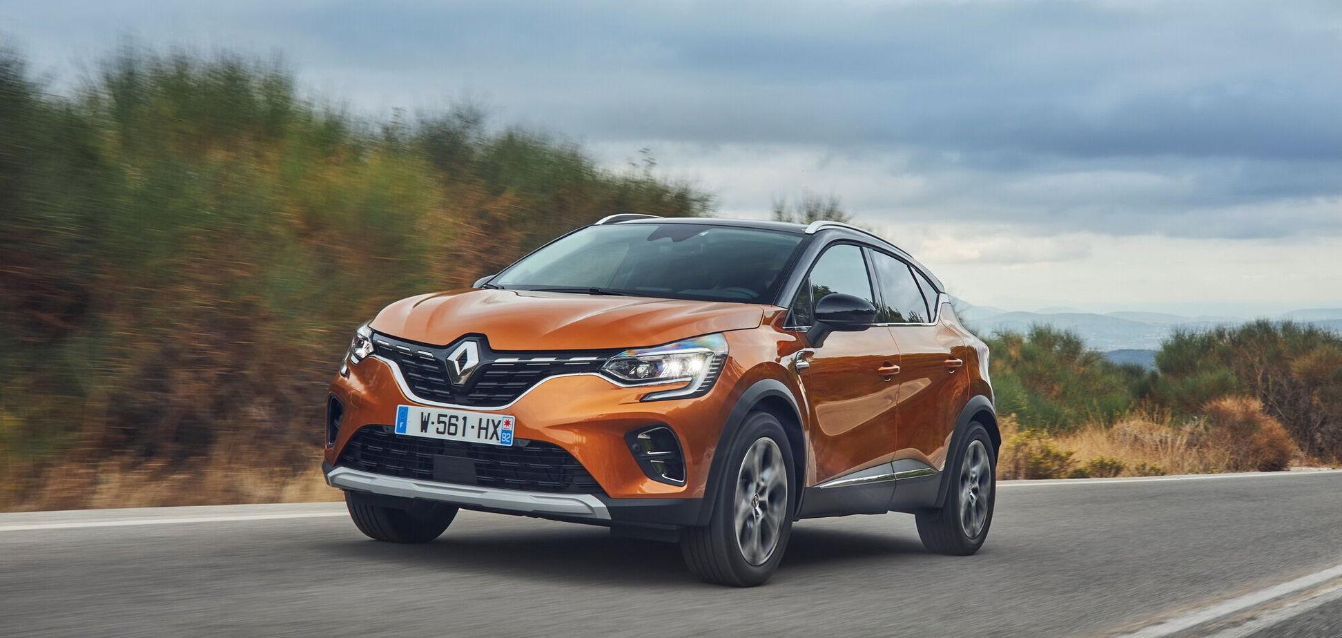 Новый Renault Captur представили в Украине. Видео
