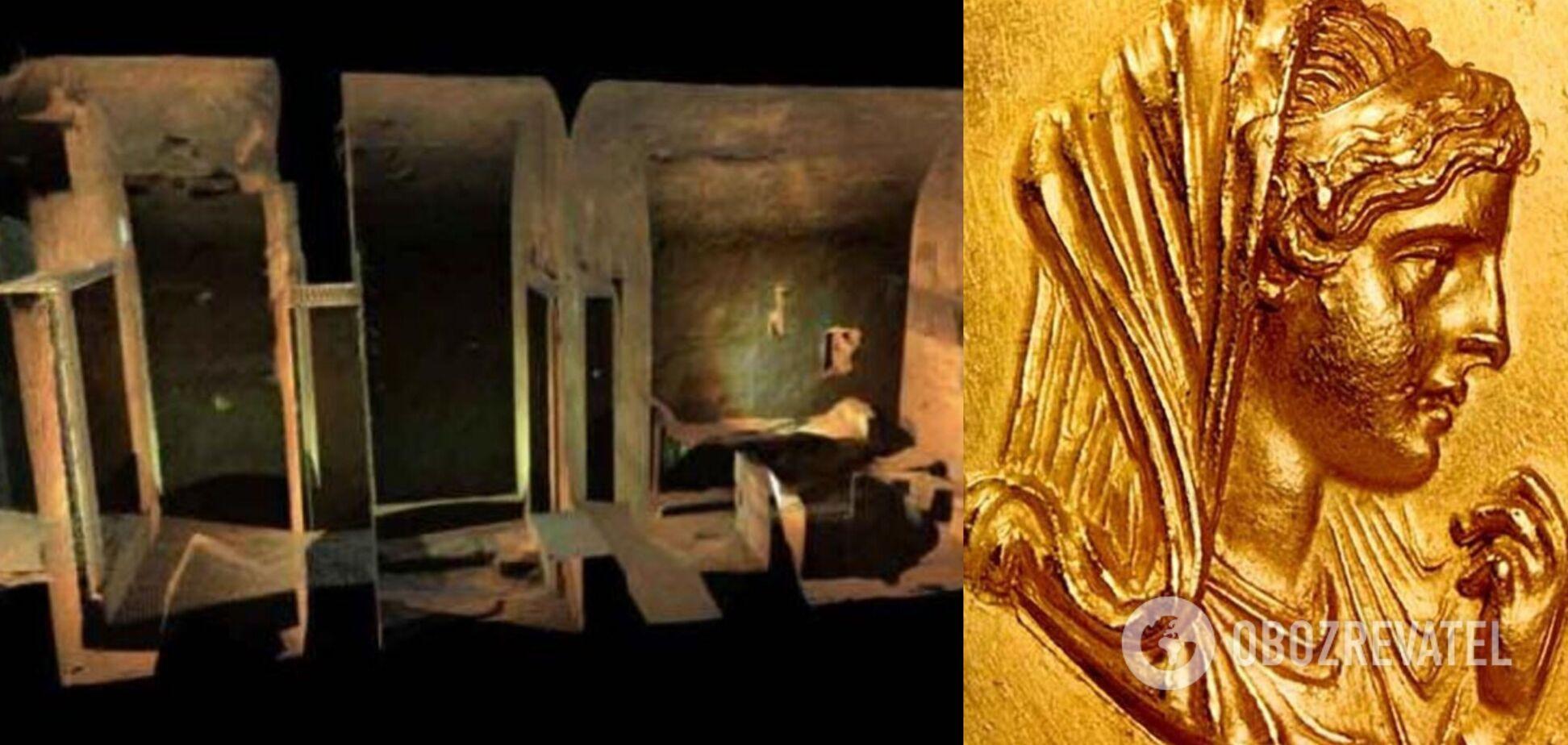 У Греції знайшли гробницю матері Олександра Македонського. Фото