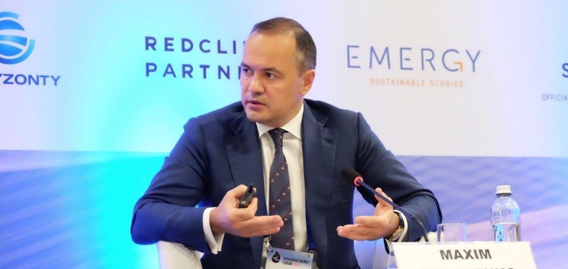 Максим Тімченко: інтеграція енергосистеми до ЄС і декарбонізація економіки – запорука енергобезпеки України