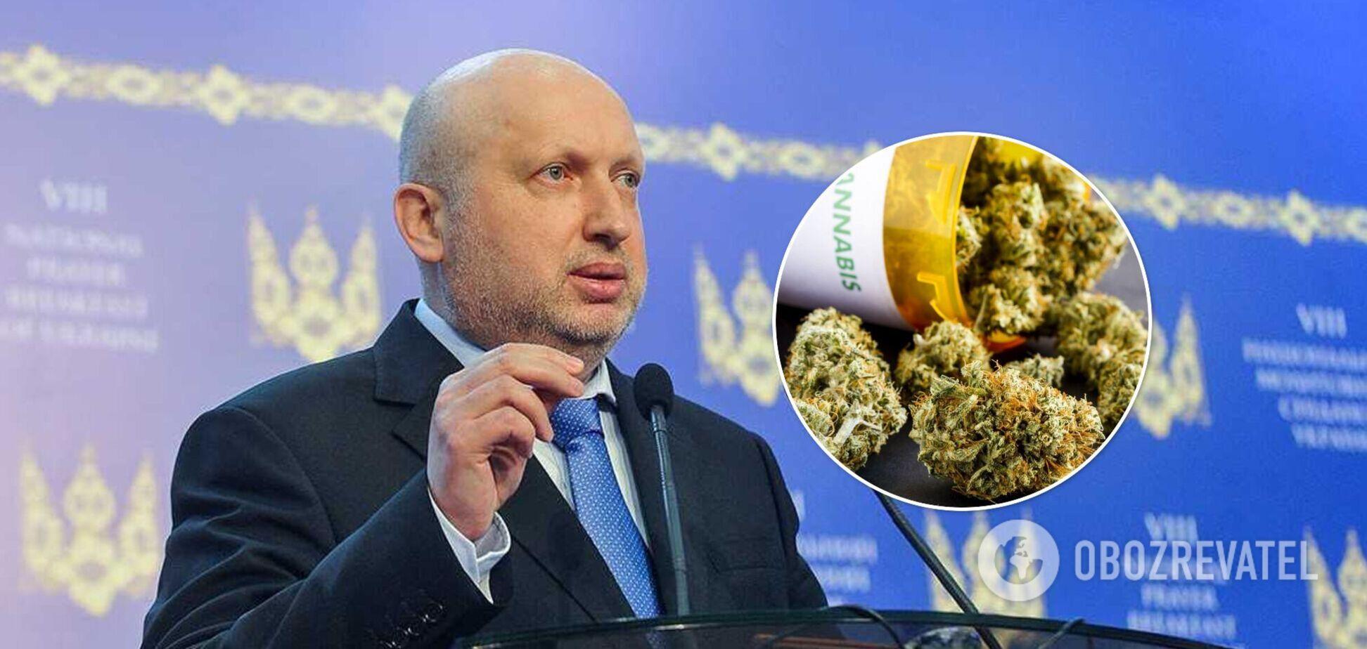 Турчинов пояснил, в чем состоят манипуляции на теме легализации каннабиса