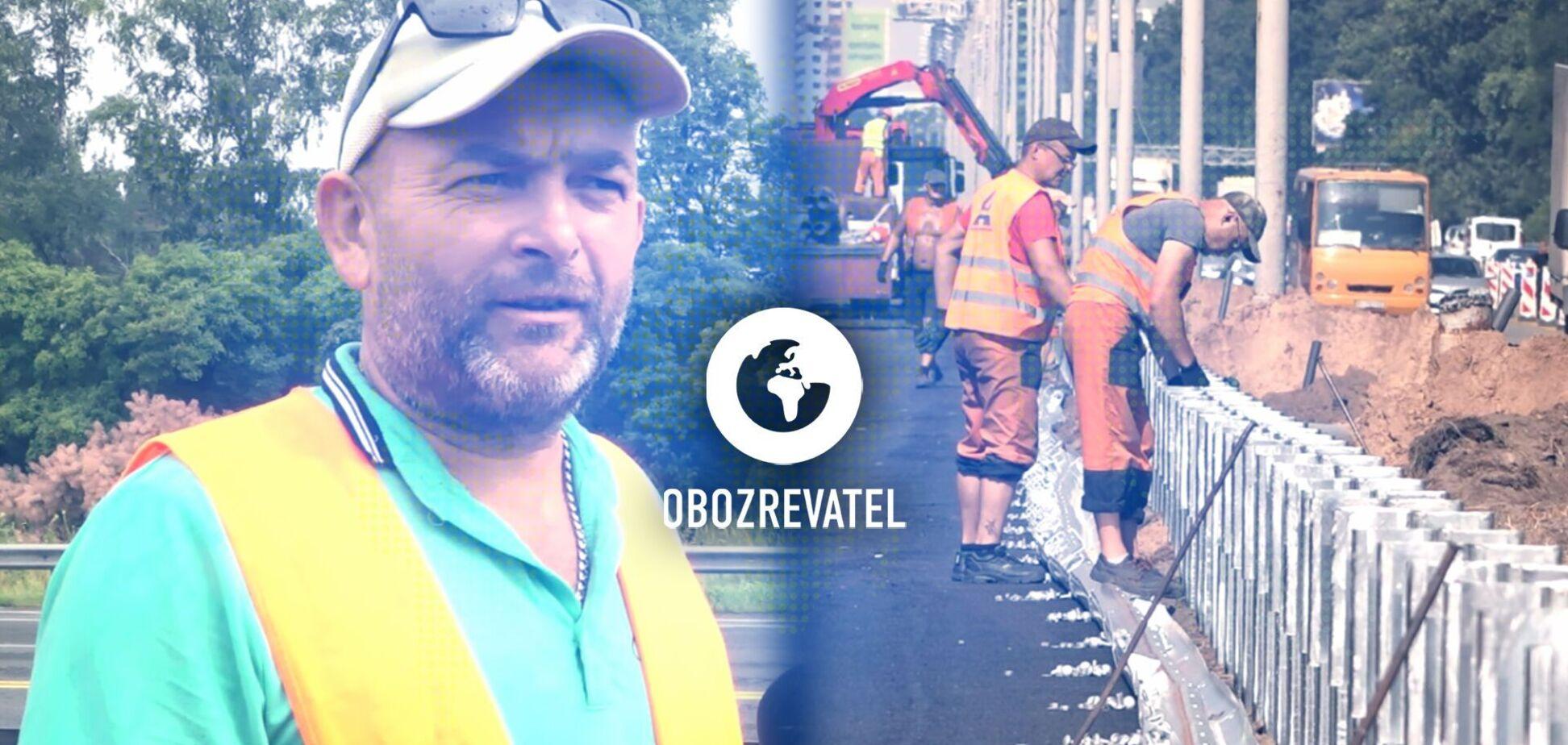 Бесконечные пробки: ремонт Бориспольской трассы и как попасть в аэропорт – сюжет