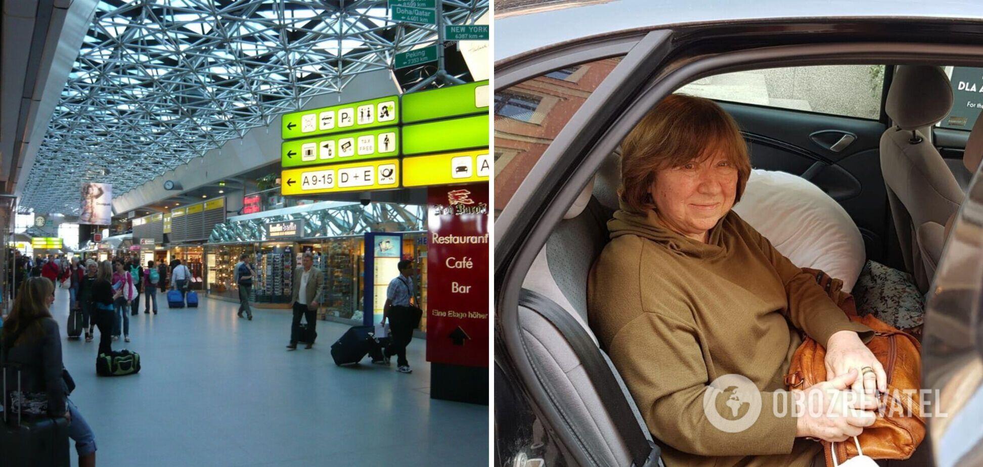 Нобелевскую лауреатшу Алексиевич задержали в аэропорту Берлина из-за 'бомбы' в ее сумке