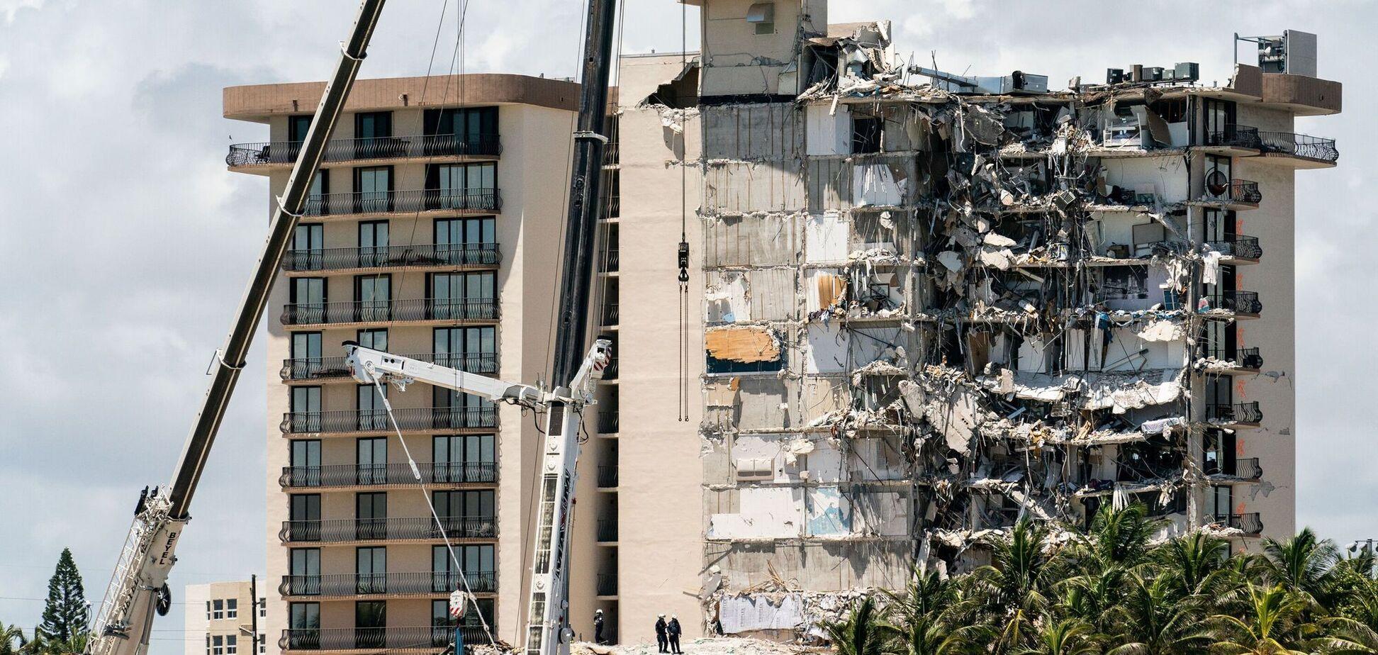 Люди в паніці повідомляли, що будівля 'просто провалилася'