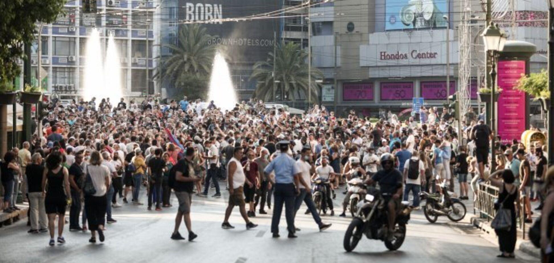 Протести в Афінах (Греція)