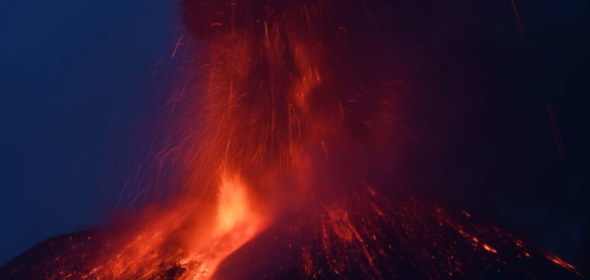 Вулкан Етна активізувався