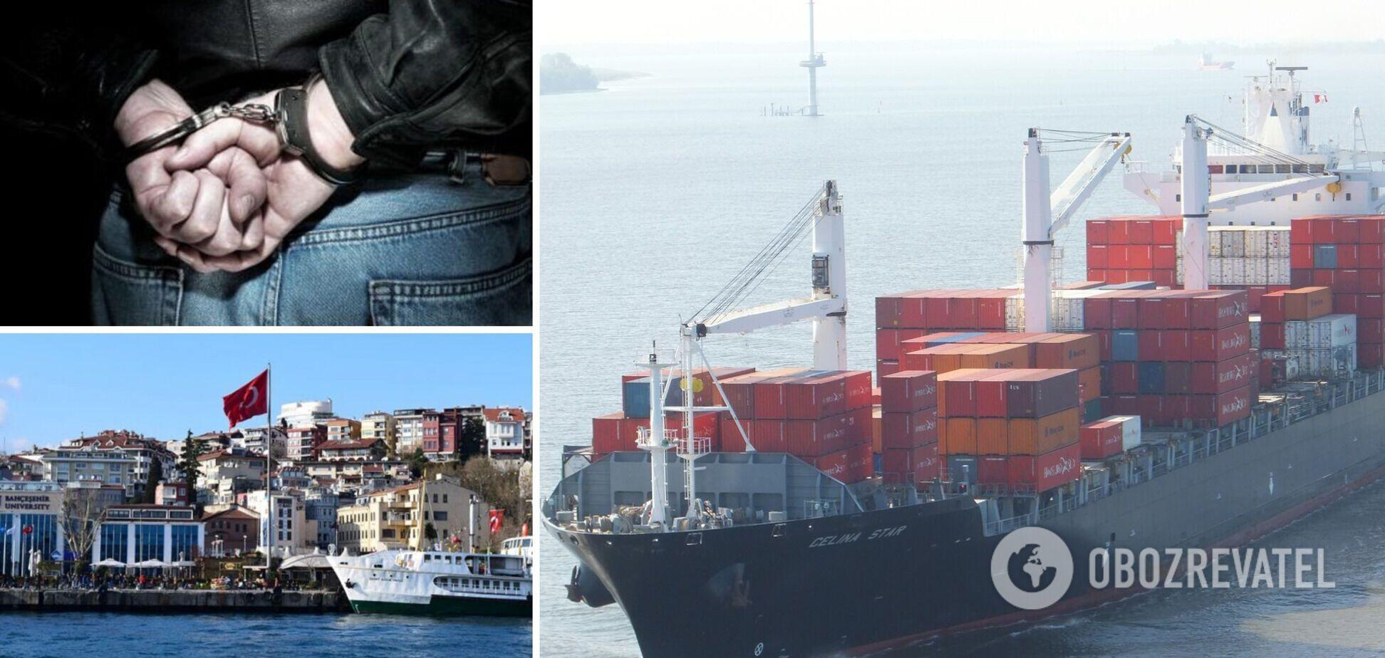 Украинских моряков арестовали в Турции