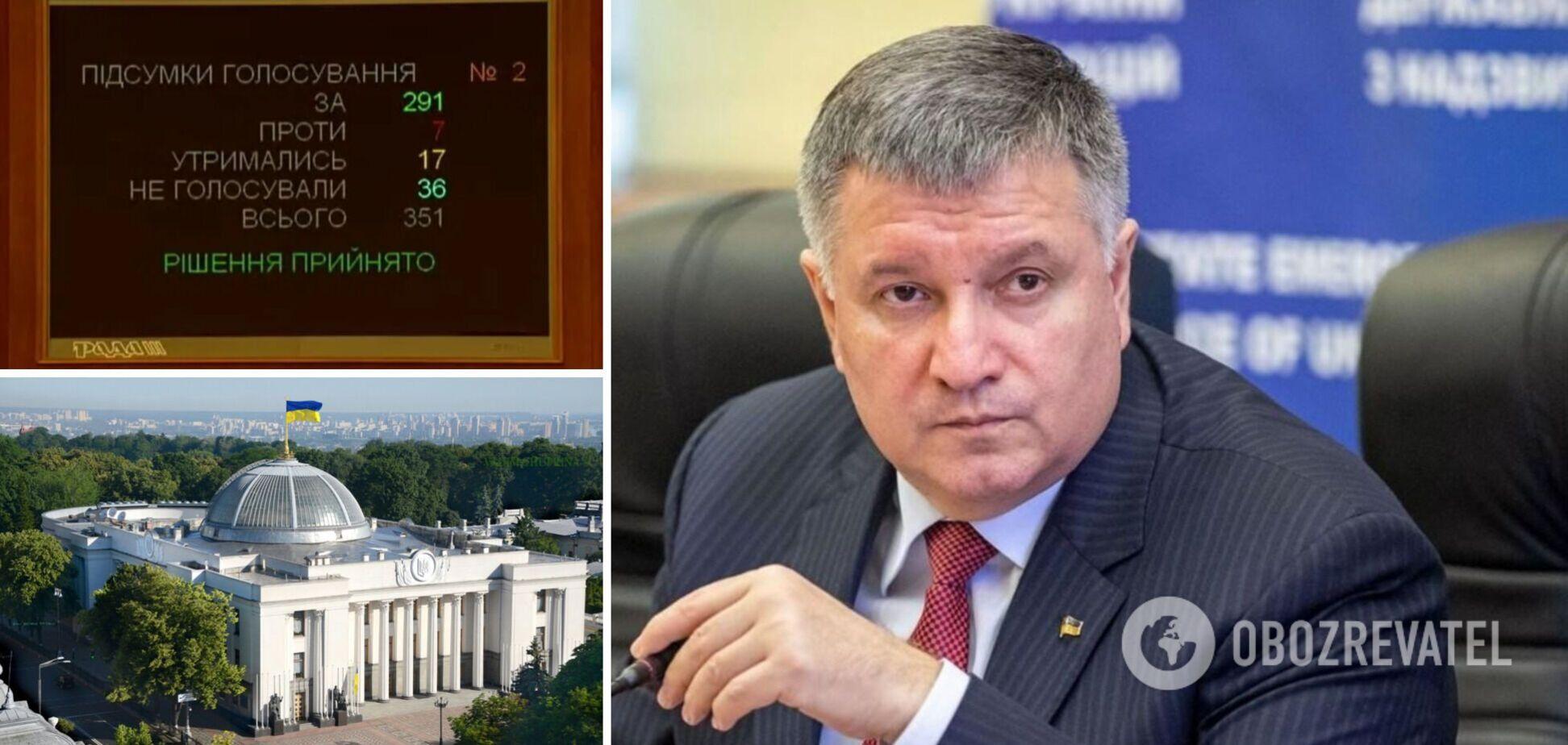 Нардепы проголосовали за отставку Авакова