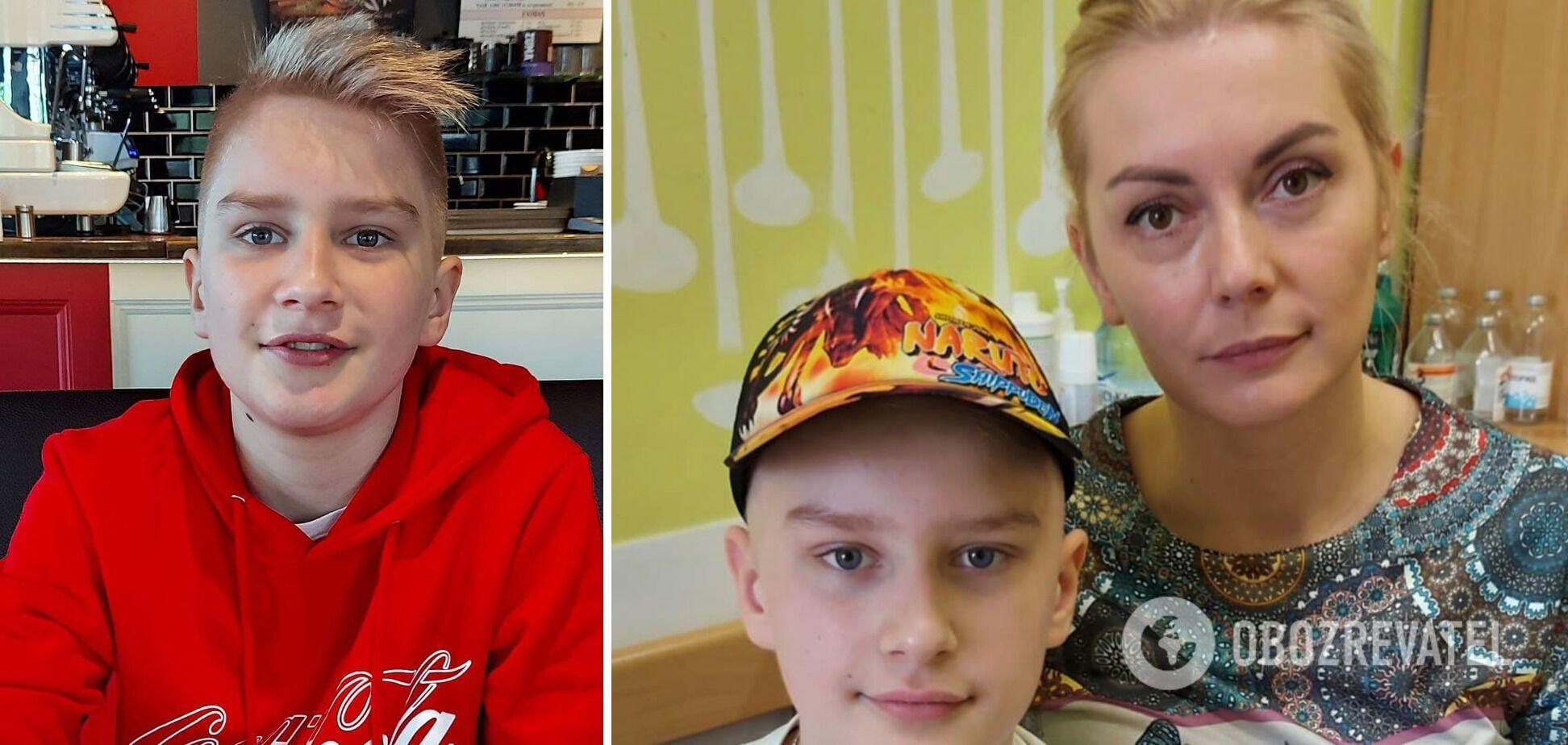 'Єгор запитав: мамо, від цього помирають?' Син загиблого героя АТО бореться з раком