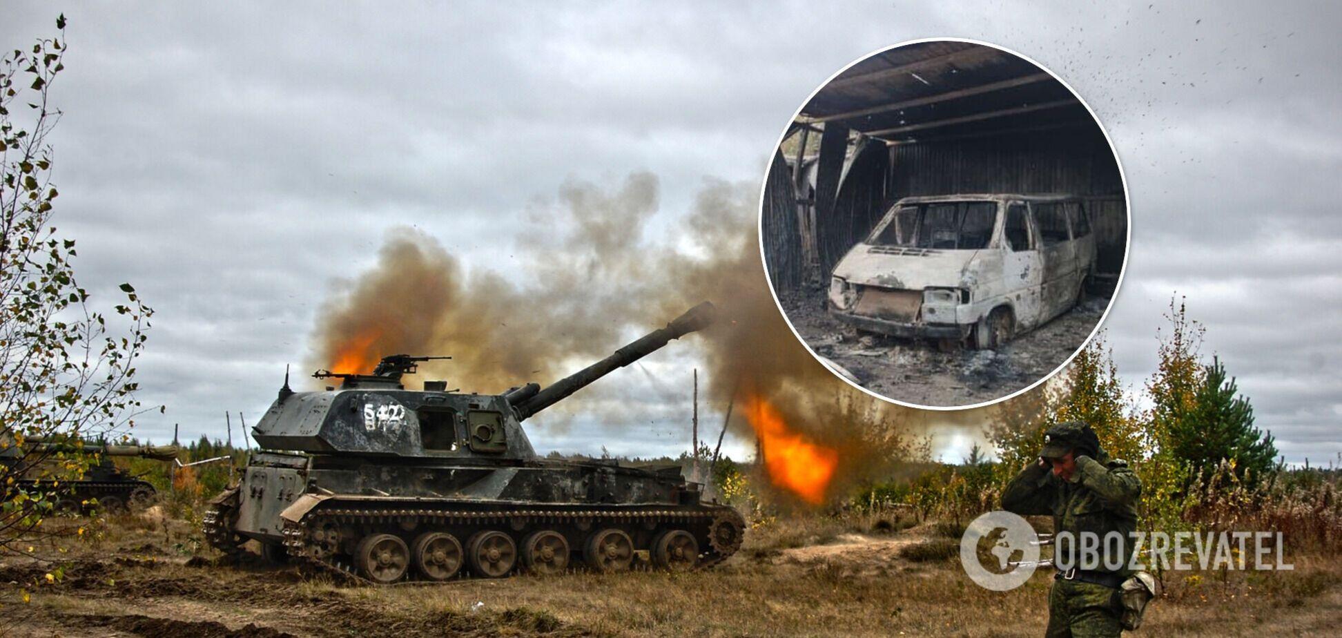 В ООС показали наслідки обстрілу окупантами, під час якого загинув воїн ЗСУ