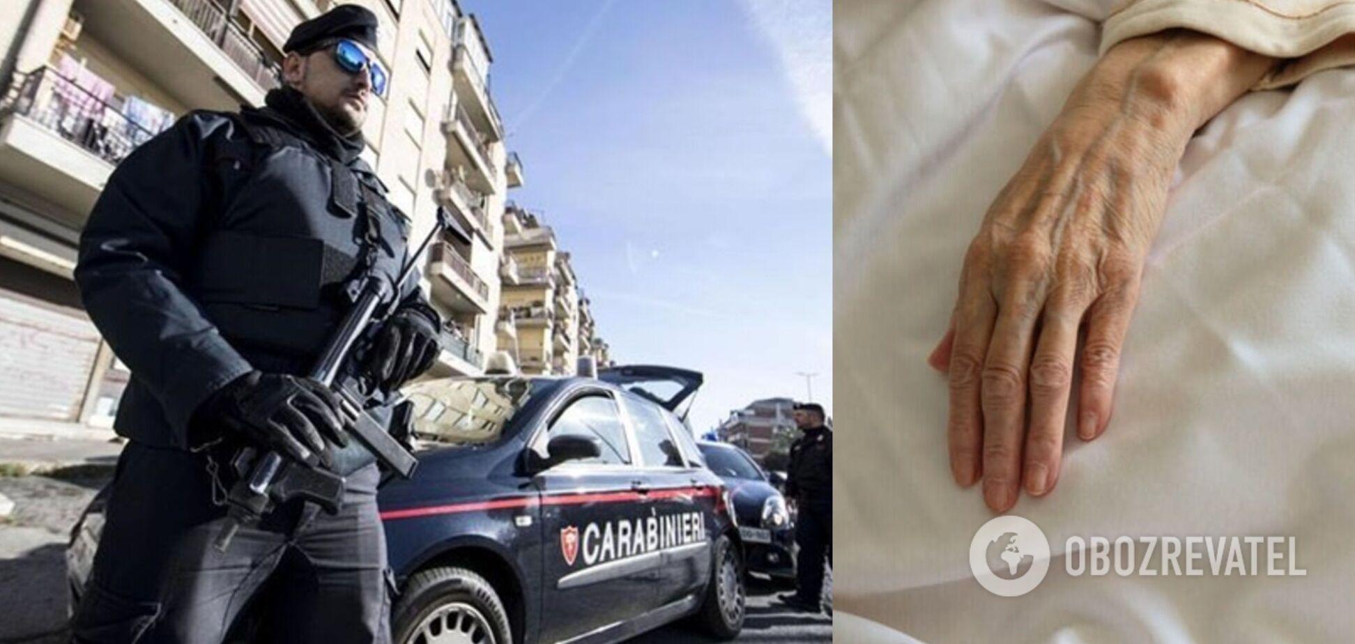 В Италии украинку обвинили в избиении пенсионерки, за которой она присматривала
