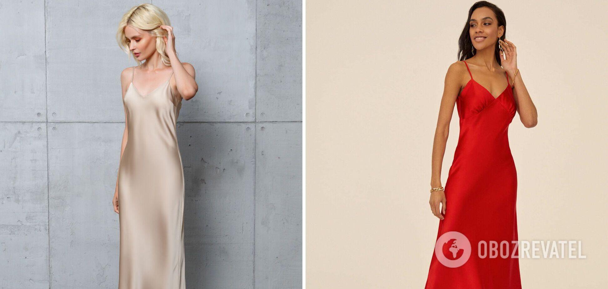 Платье-комбинация стало трендом лета 2021: как правильно выбрать наряд