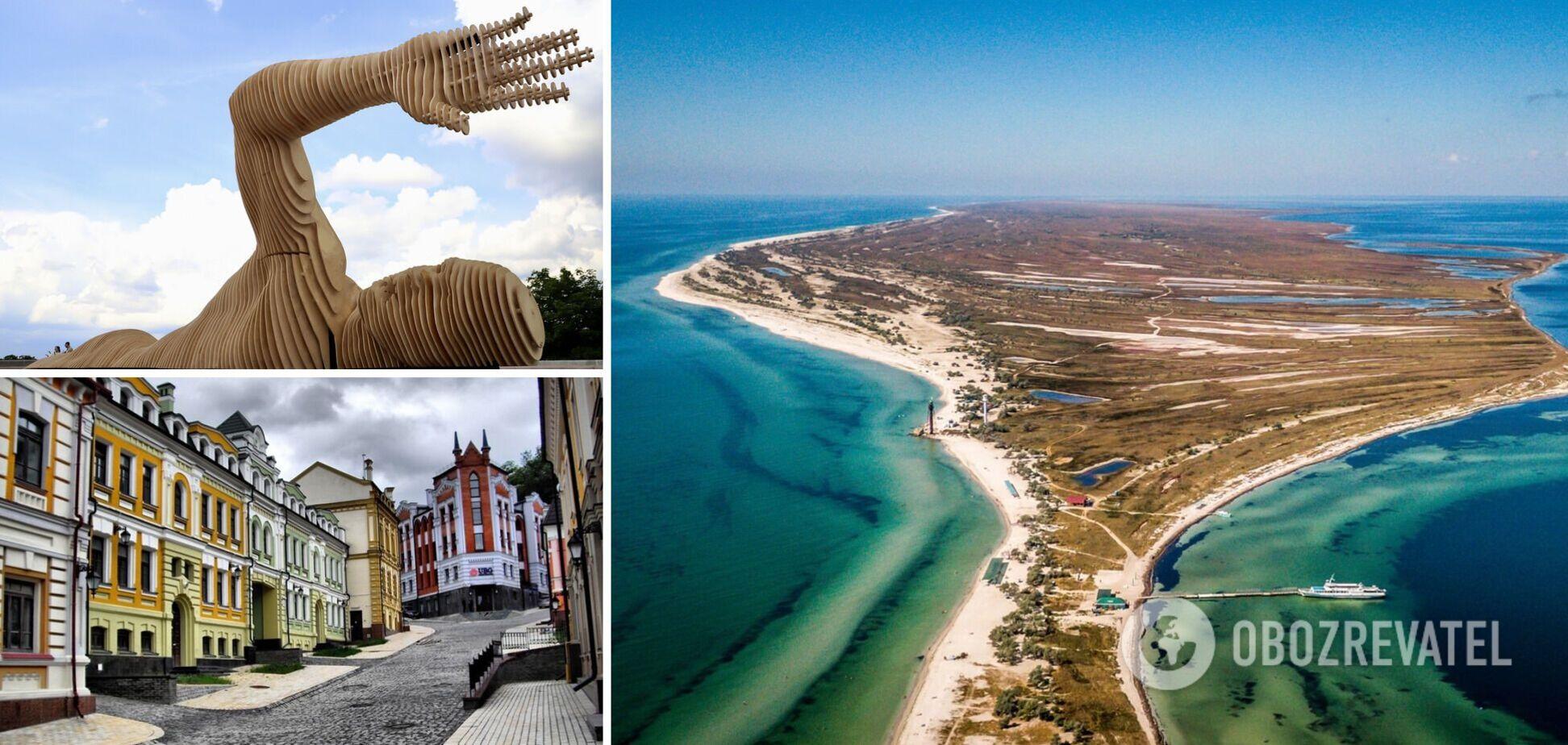 В Украине есть сотни туристических локаций, которые должен увидеть каждый в 2021 году