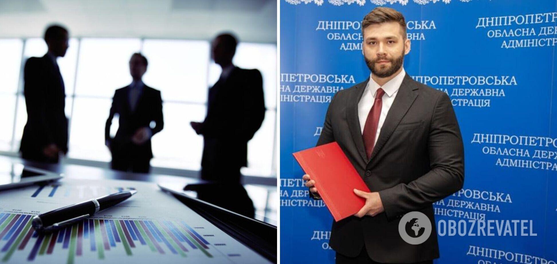 Нового главу Дніпровської РДА звинуватили в рейдерстві. Відео