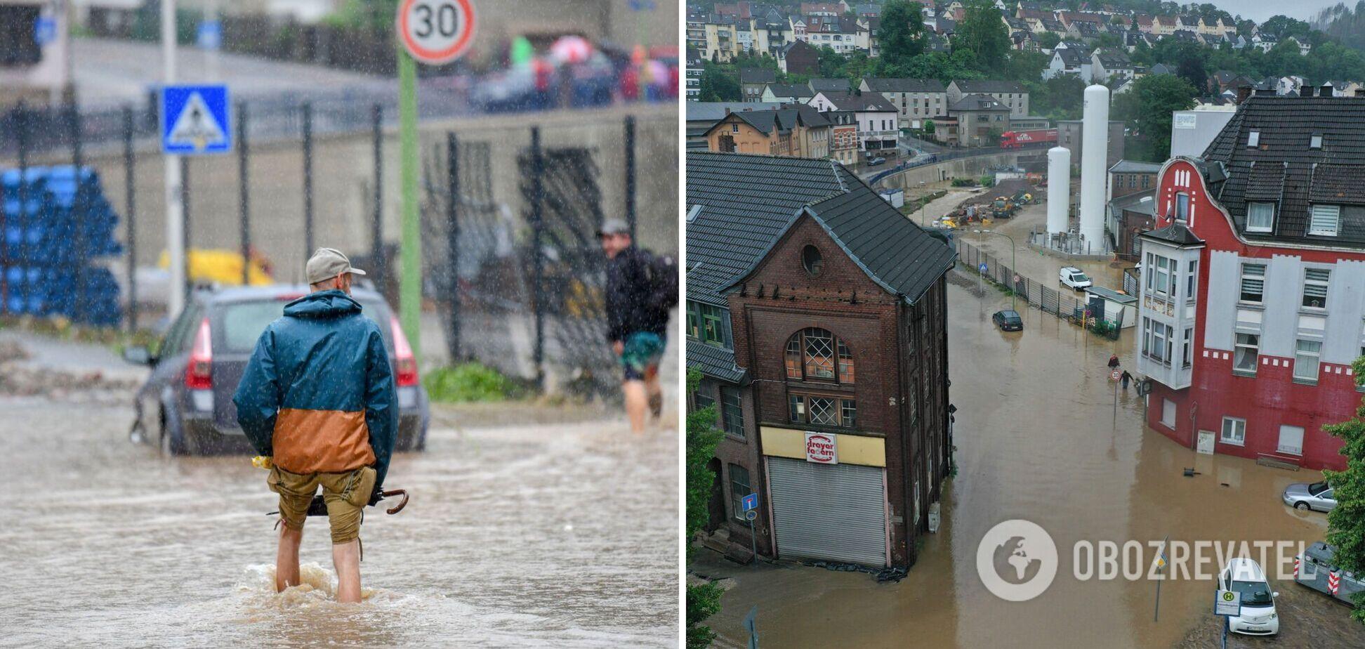 Наводнение в Германии унесло более 100 жизней, объявлен режим военной катастрофы. Фото и видео
