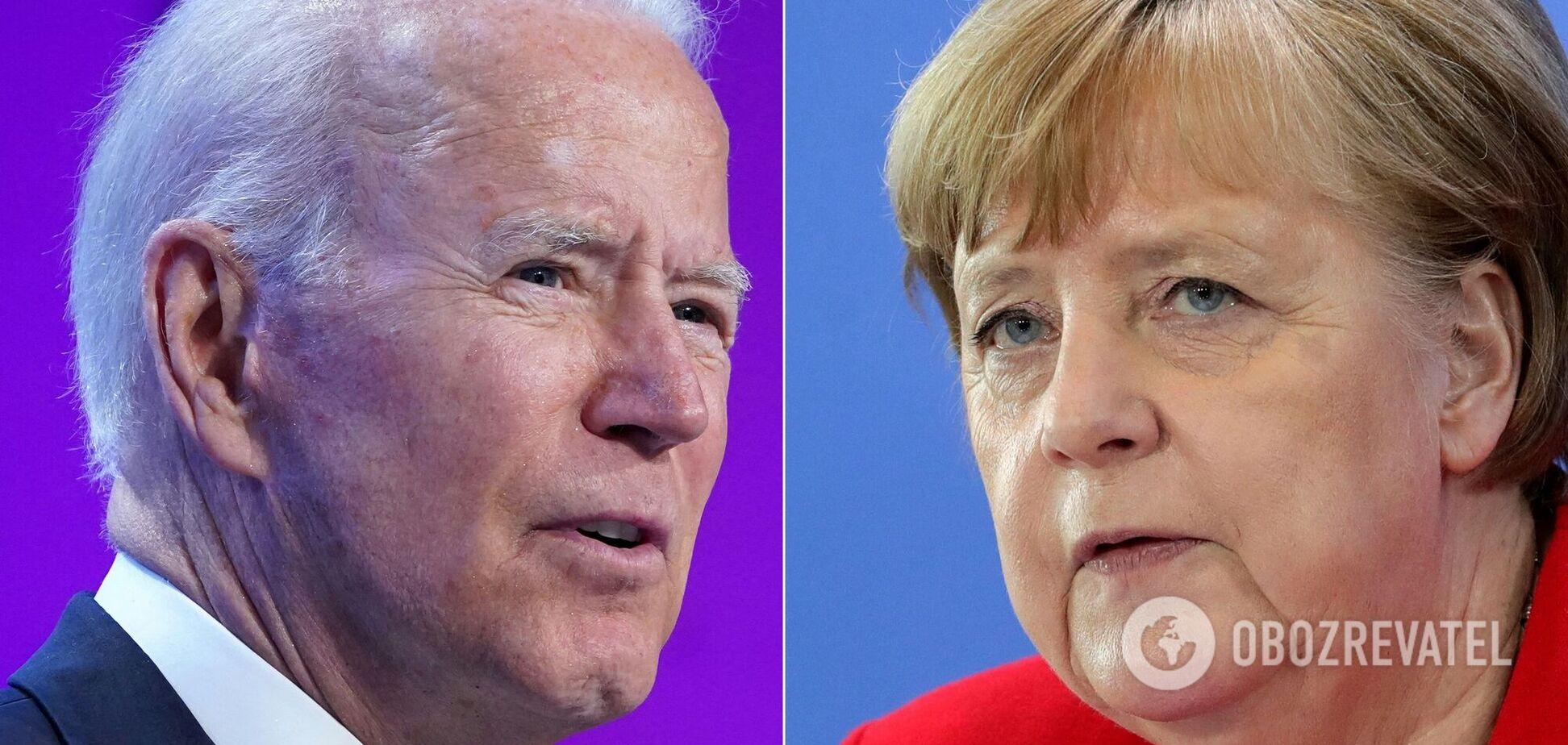 Байден и Меркель продолжат секретные переговоры касательно 'Северного потока-2', – Хербст