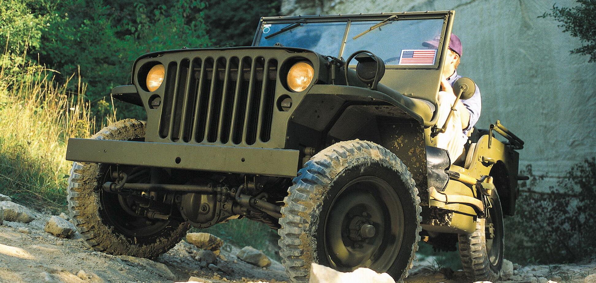 Компания Jeep отметила свое 80-летие