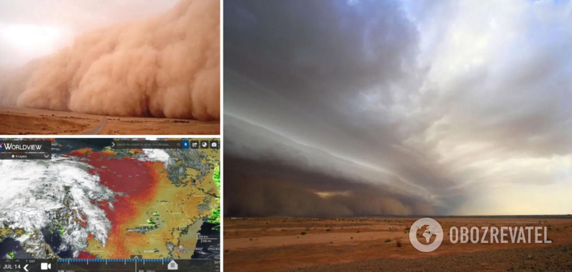 Пилова буря з Сахари накриє Україну: синоптик назвав головну небезпеку