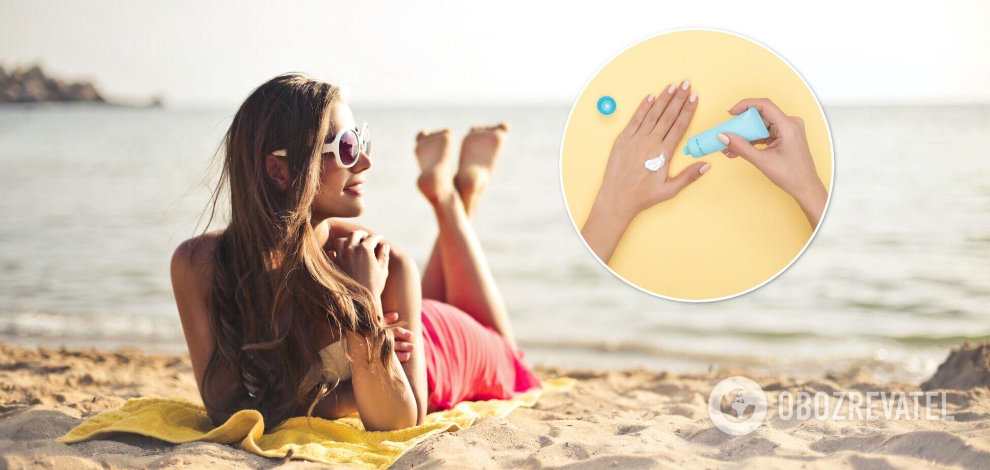 Сонцезахисний крем з SPF