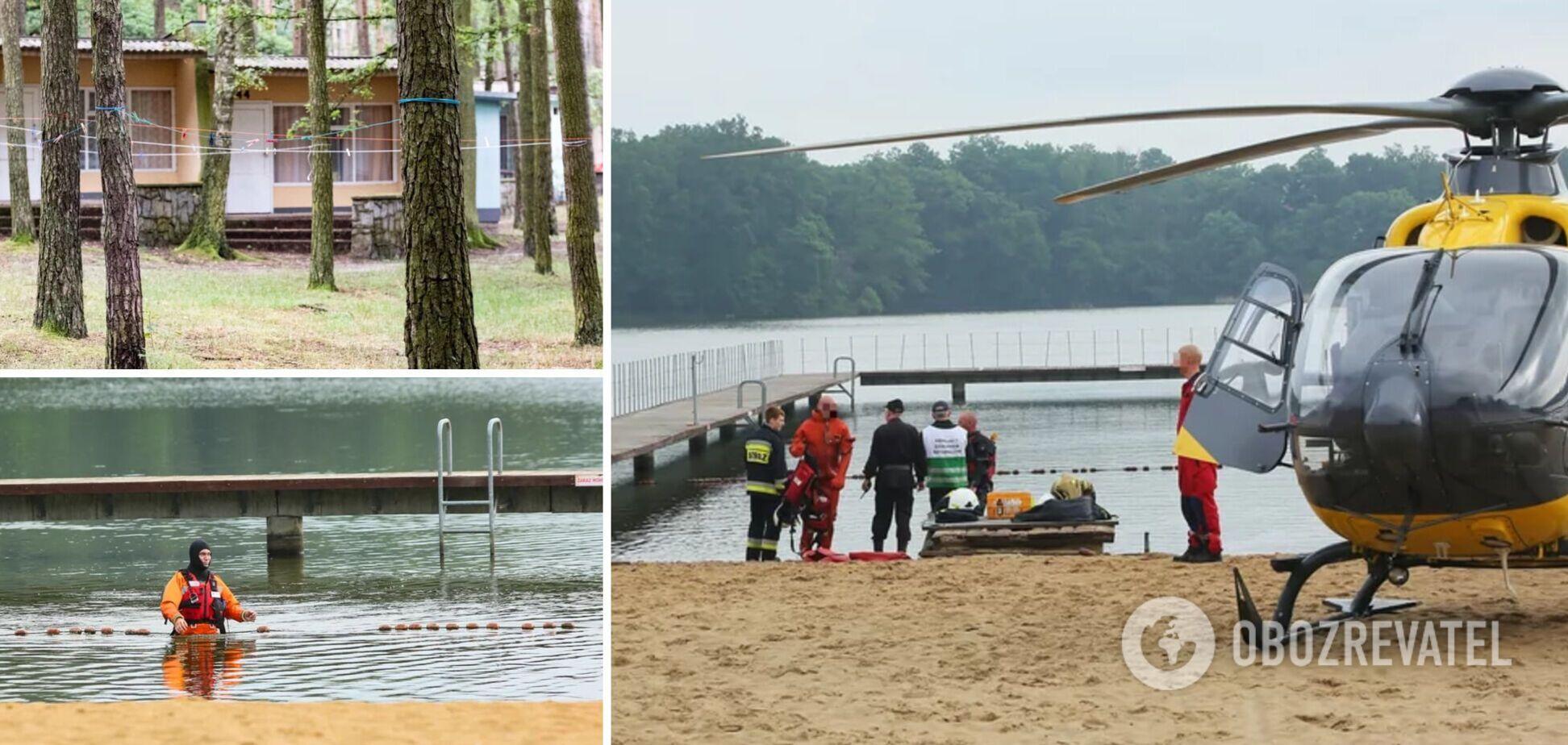 В Польше 2-летний украинец утонул в озере, пока его родители спали после шумной вечеринки