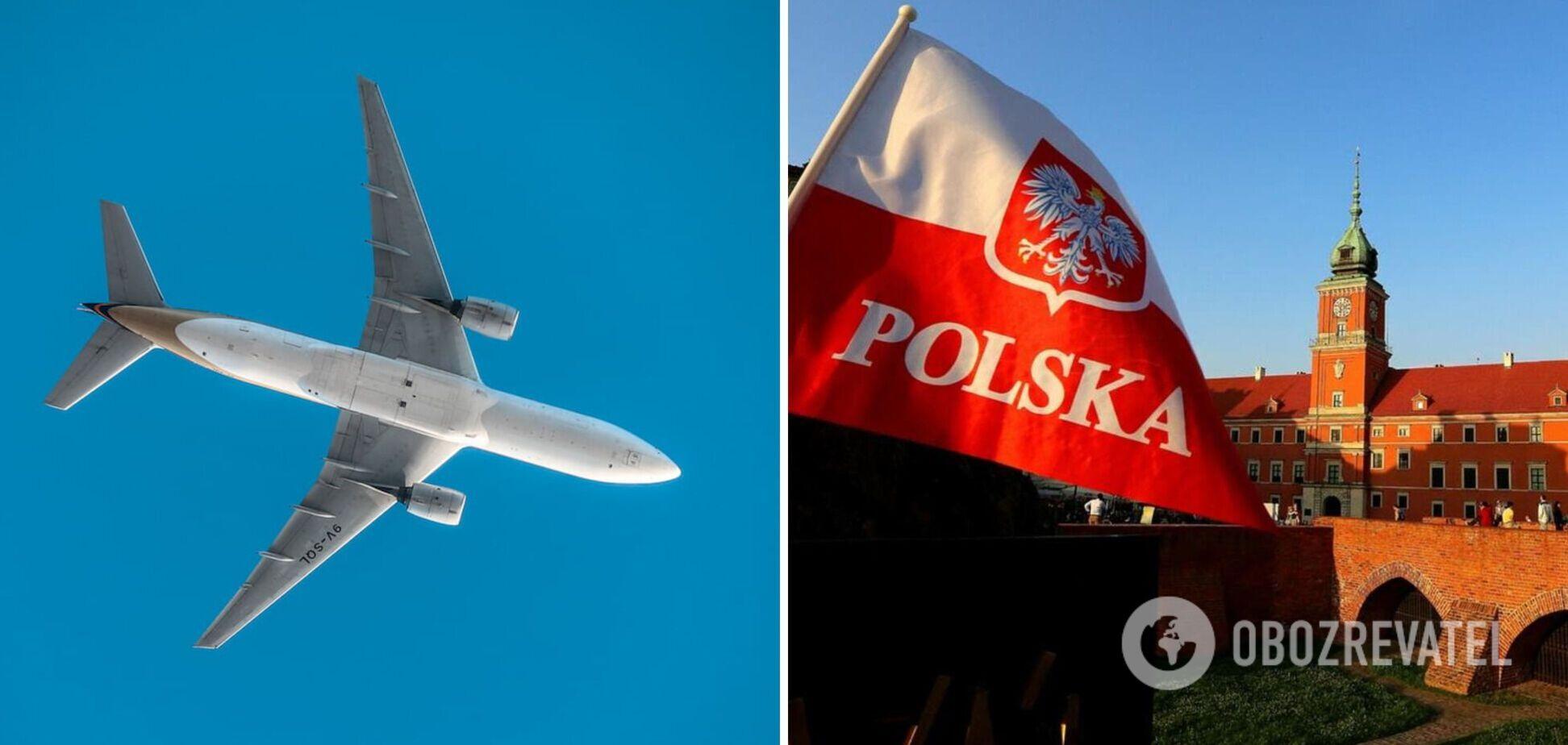 Польша упростила условия въезда для украинцев на самолете