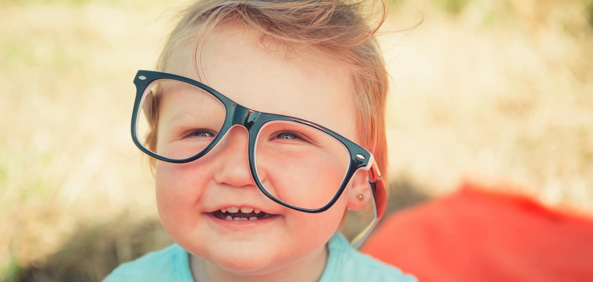 Поганий зір у дітей