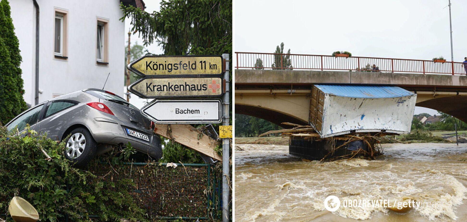 Сотни жертв и разрушенные города. Что известно о смертельном наводнении в Германии. Фото