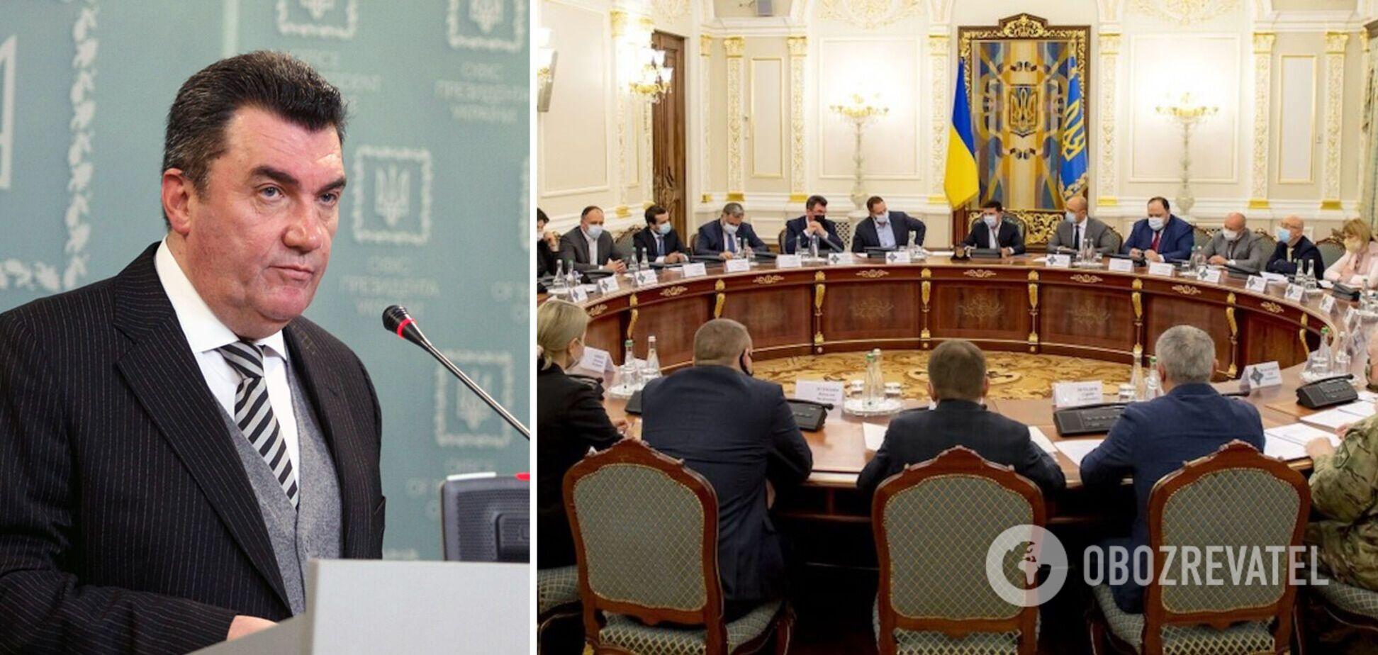 Данилов рассказал о грядущем заседании