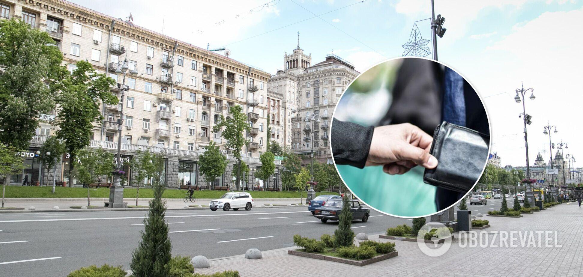 У Києві на Хрещатику пограбували грецького дипломата: вкрали навіть документи