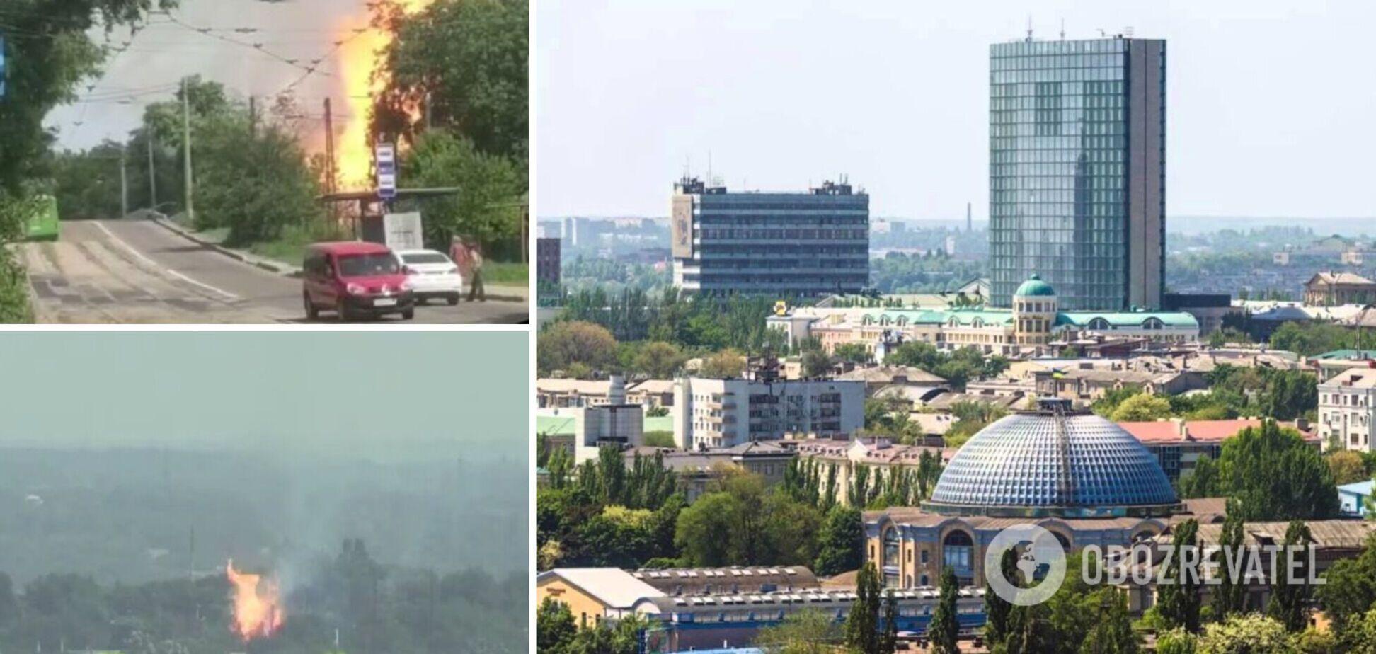 ЧП в Донецке