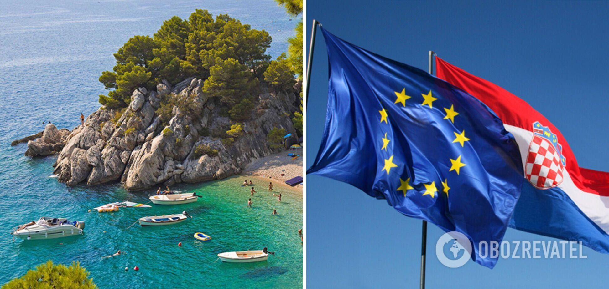 Украинцы могут совершить путешествие в Хорватию
