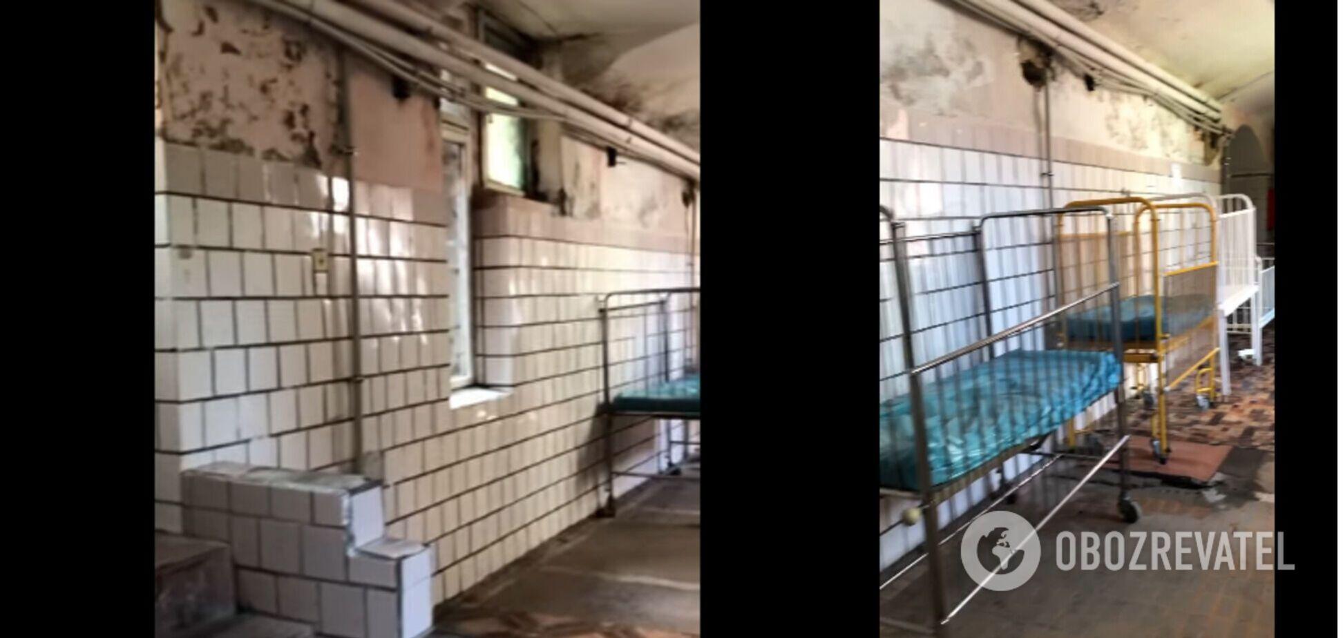 Плесень и невыносимая вонь: на Буковине пожаловались на состояние детской больницы. Видео