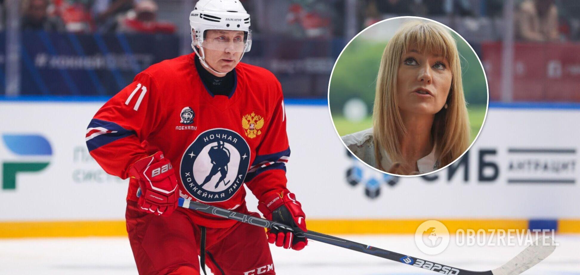 'Это нельзя показывать': олимпийская чемпионка оценила игру Путина в хоккей