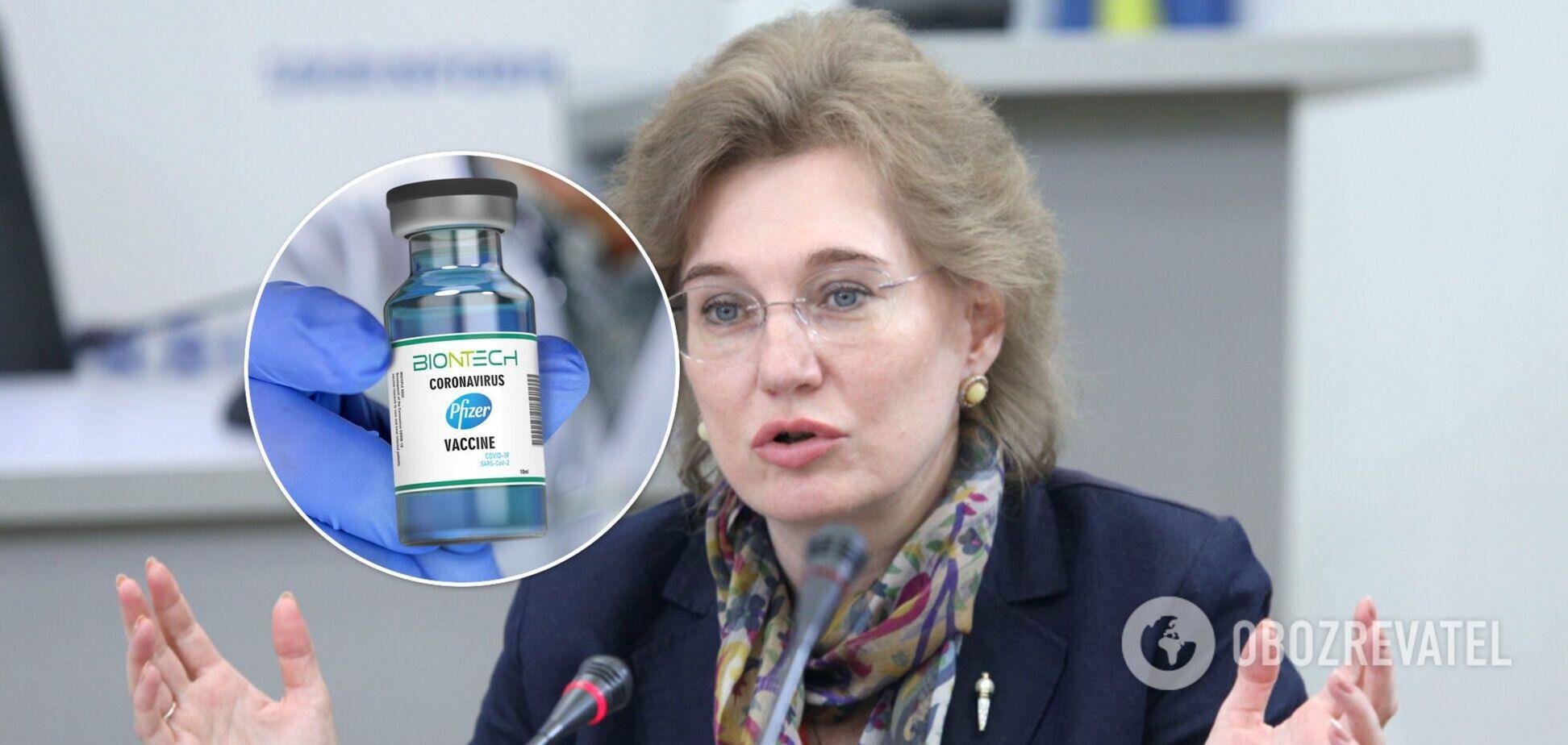 Врач-инфекционист Ольга Голубовская дала уточнение о вакцинации