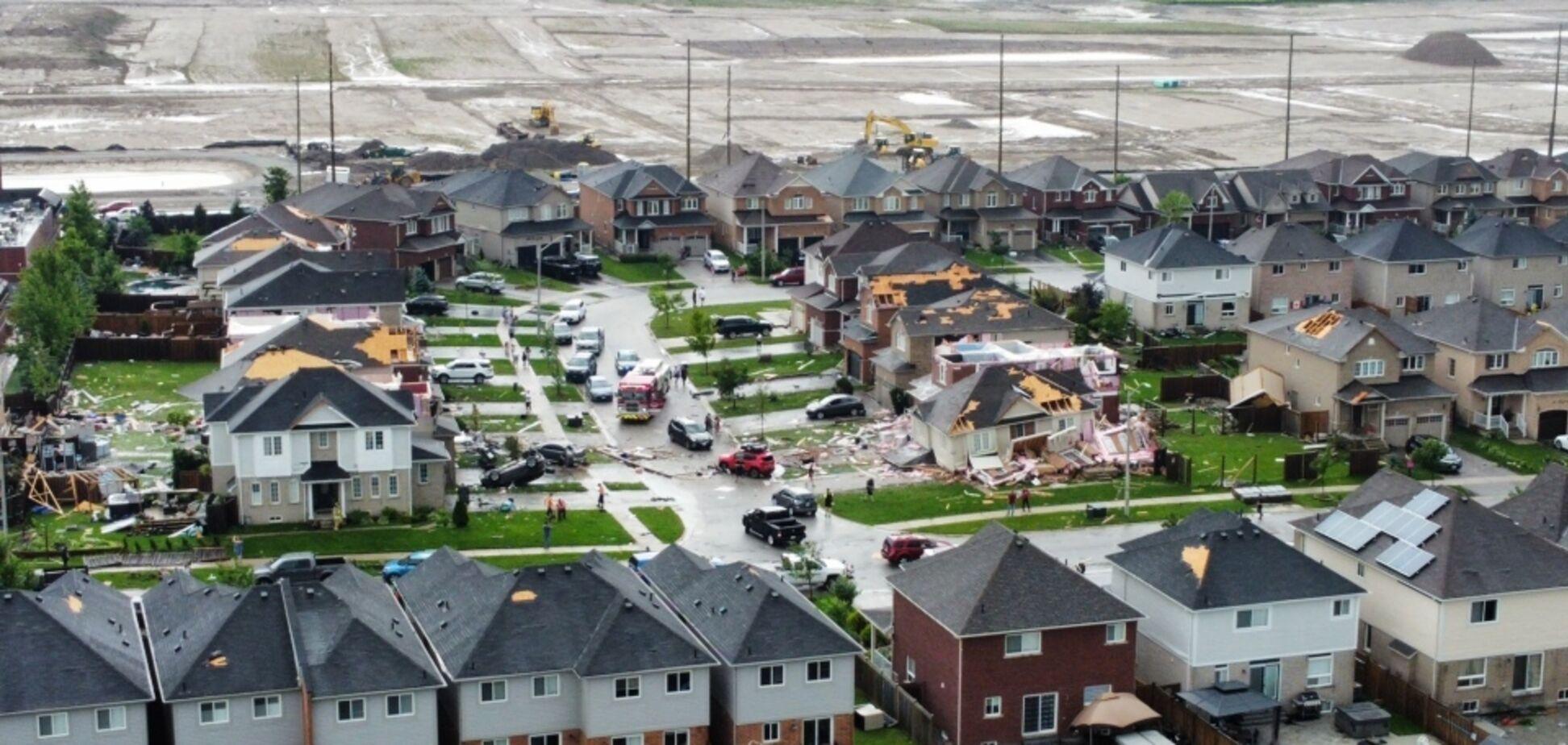 В Канаде 15 июня пронесся торнадо