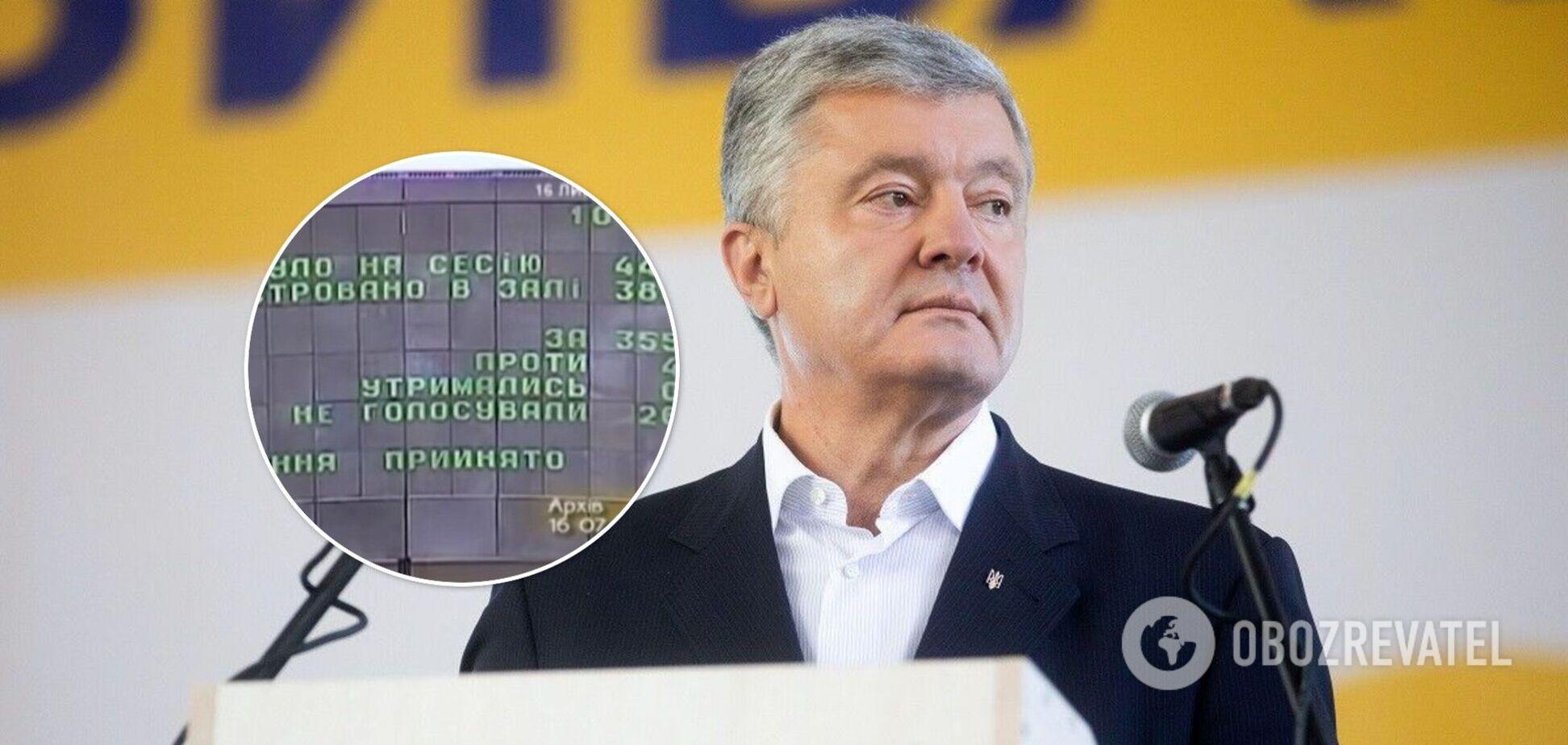 Порошенко поздравил украинцем с днем принятия декларации о государственном суверенитете