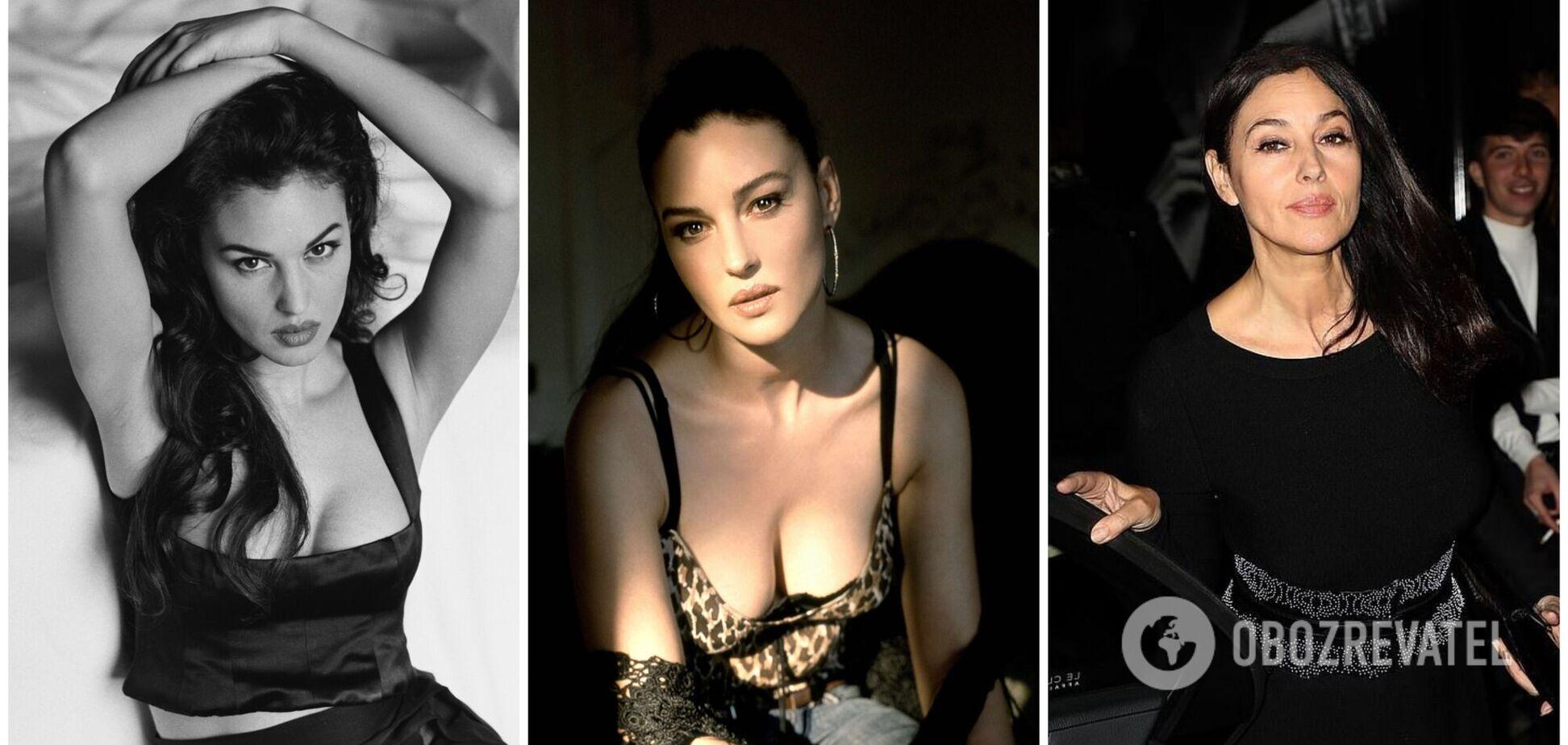 Моніка Беллуччі раптово постаріла: як змінювалась краса однієї з найсексуальніших жінок планети. Фото