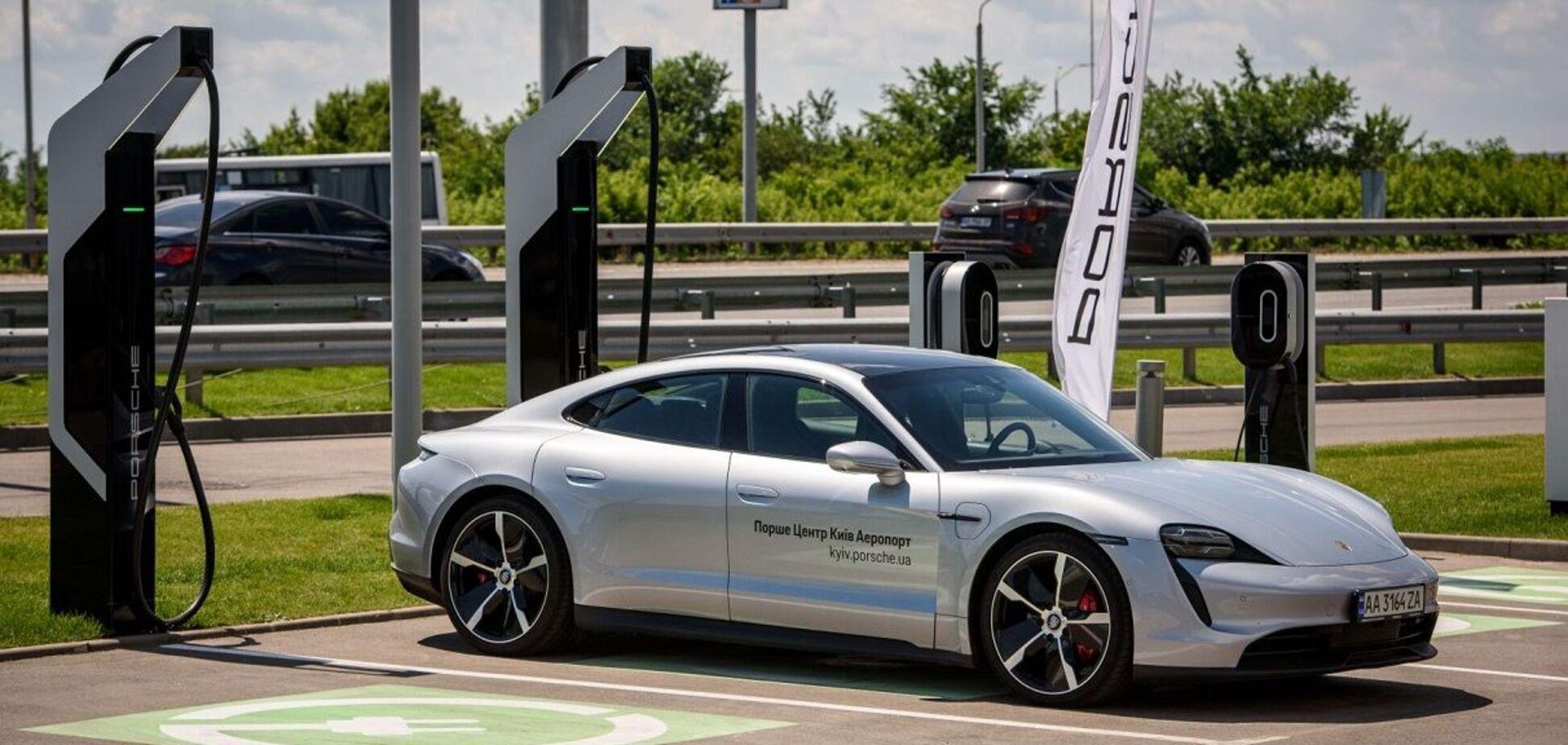 В Украине начала работать самая высокоскоростная зарядка для электромобилей