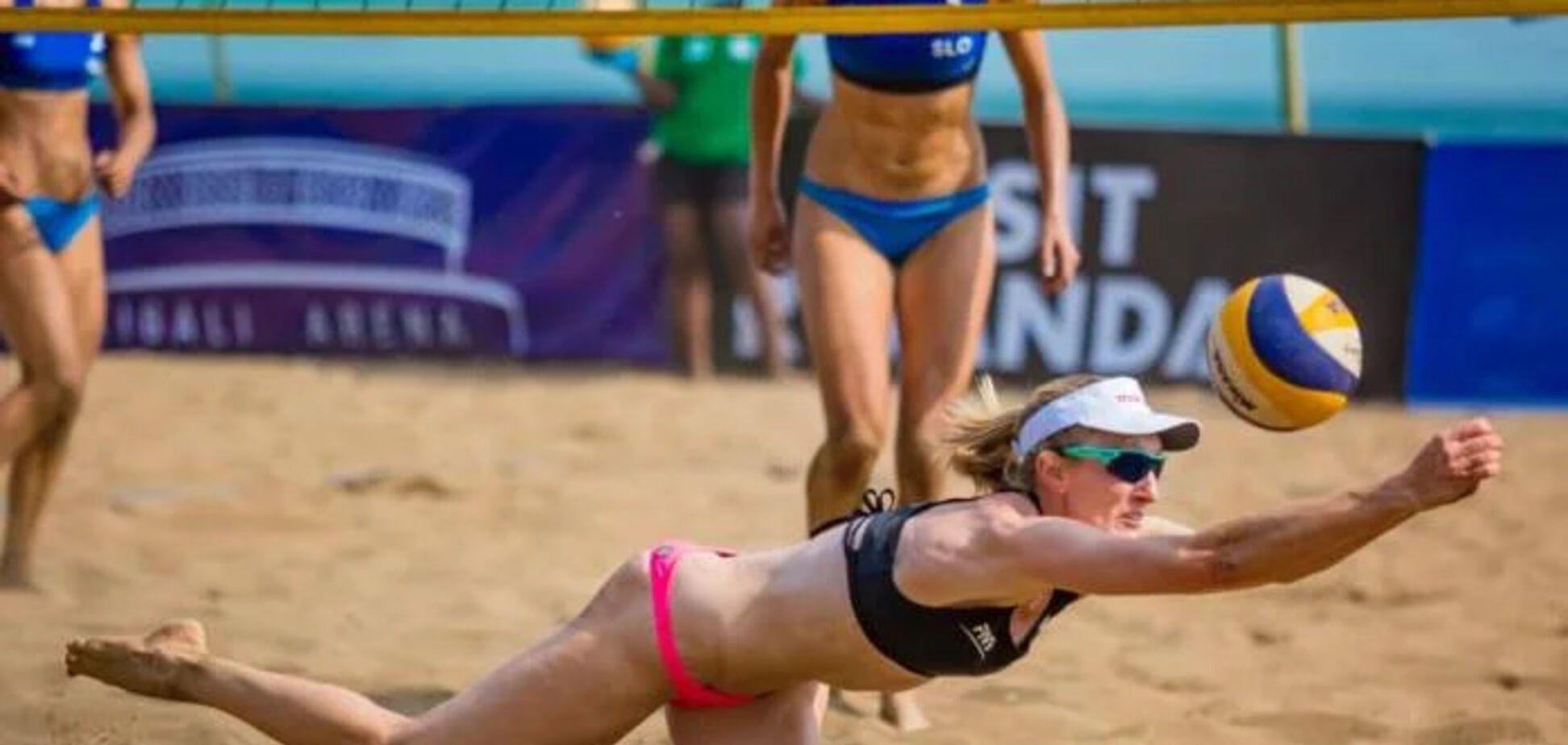 Украинские волейболистки вышли в полуфинал престижного турнира