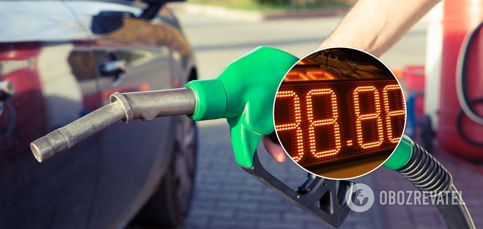 Мінекономіки дозволило АЗС підняти ціни на бензин на 23 коп/літр за формулою 'Роттердам+'