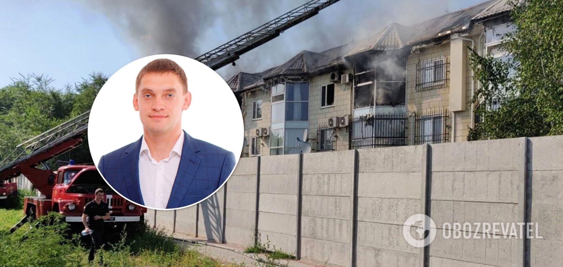 Мер Мелітополя підтвердив, що у нього згоріла квартира: нові подробиці