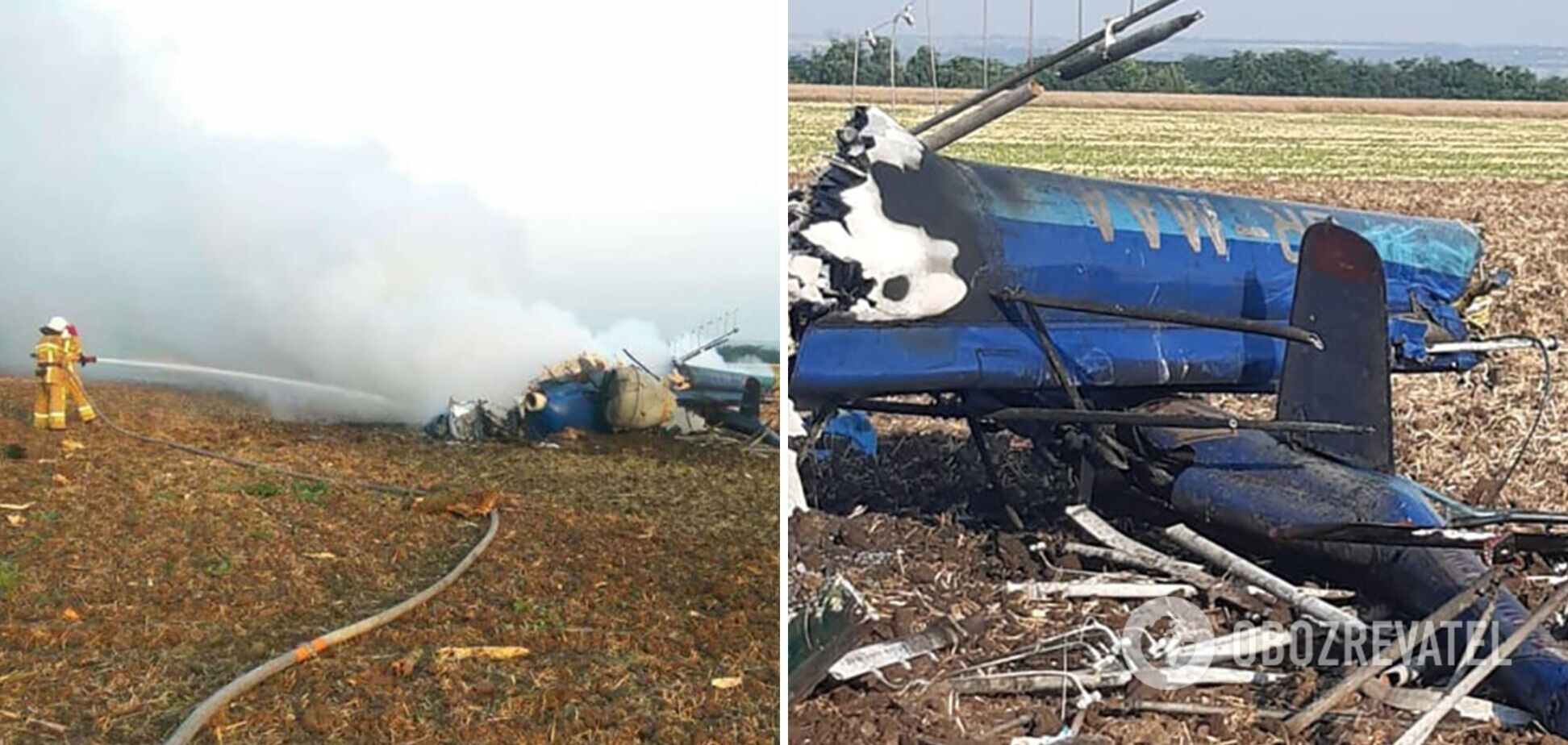 Авіакатастрофа в Миколаївській області