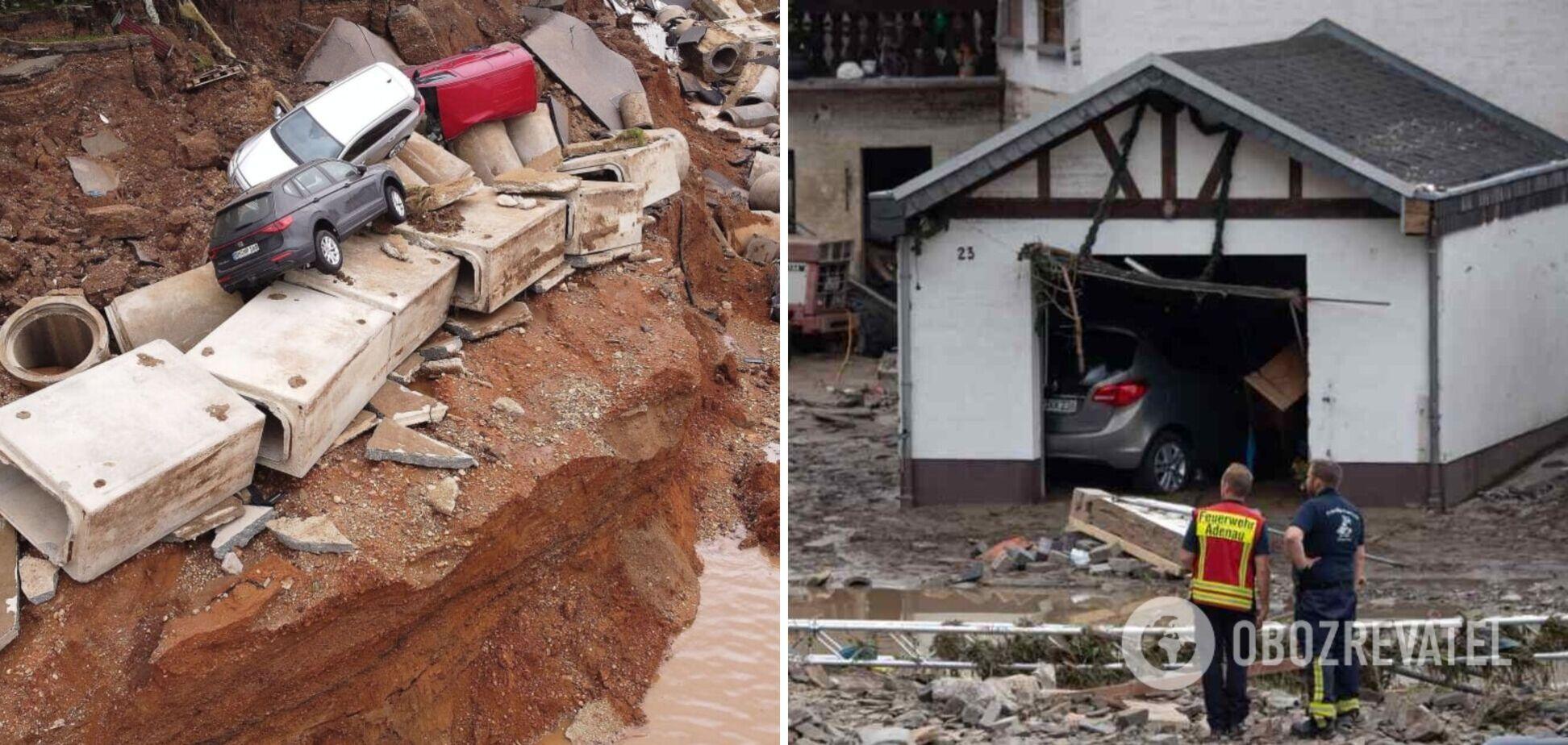 В Германии увеличилось число жертв из-за разрушительного наводнения. Фото и видео